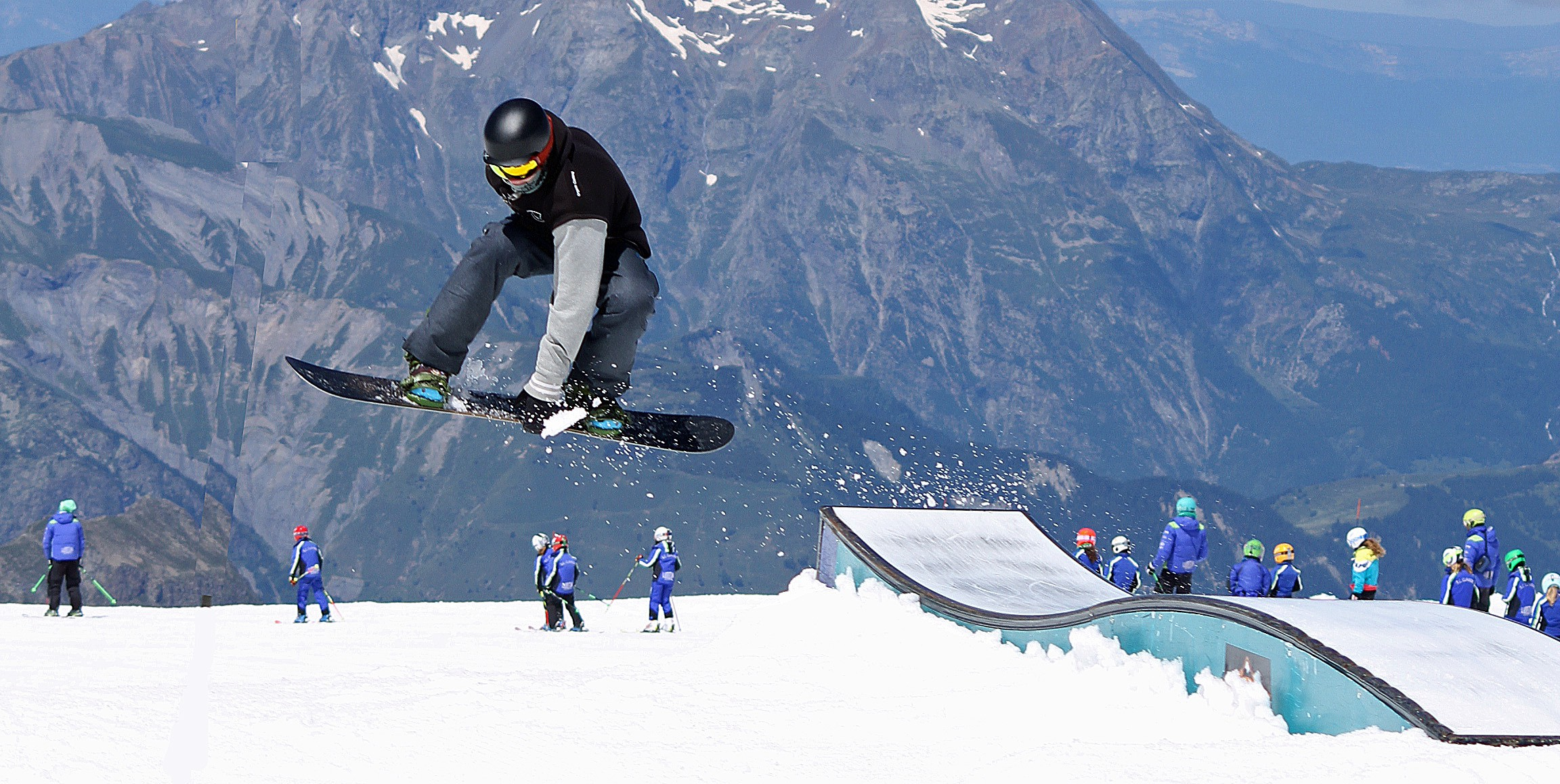 7ca5451e13f Snowboard summer coaching camps package with FREE Snowboard and board binding  demo for £669
