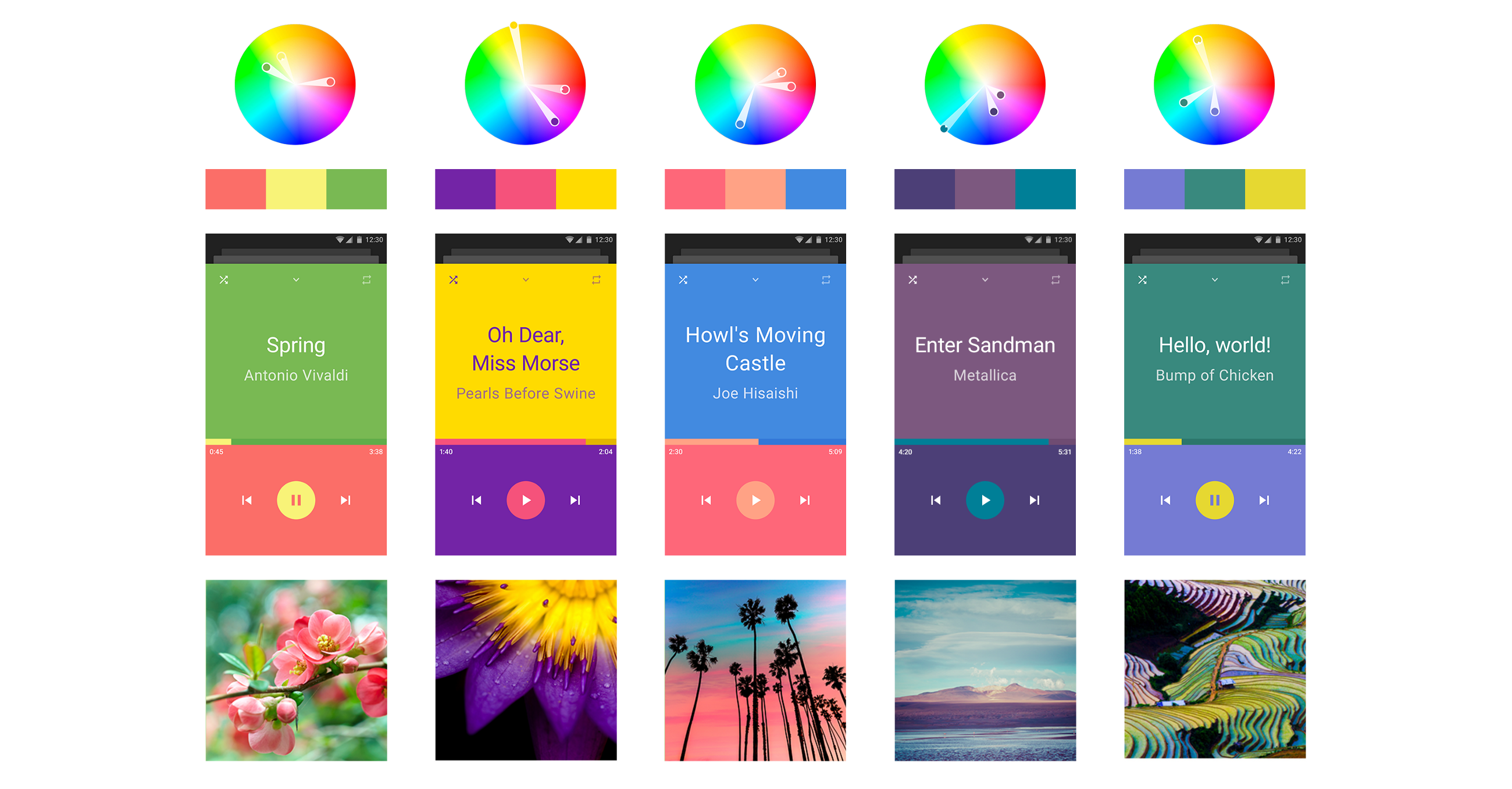 Best Three Color Scheme For Ui Design Daily Assets For Designers