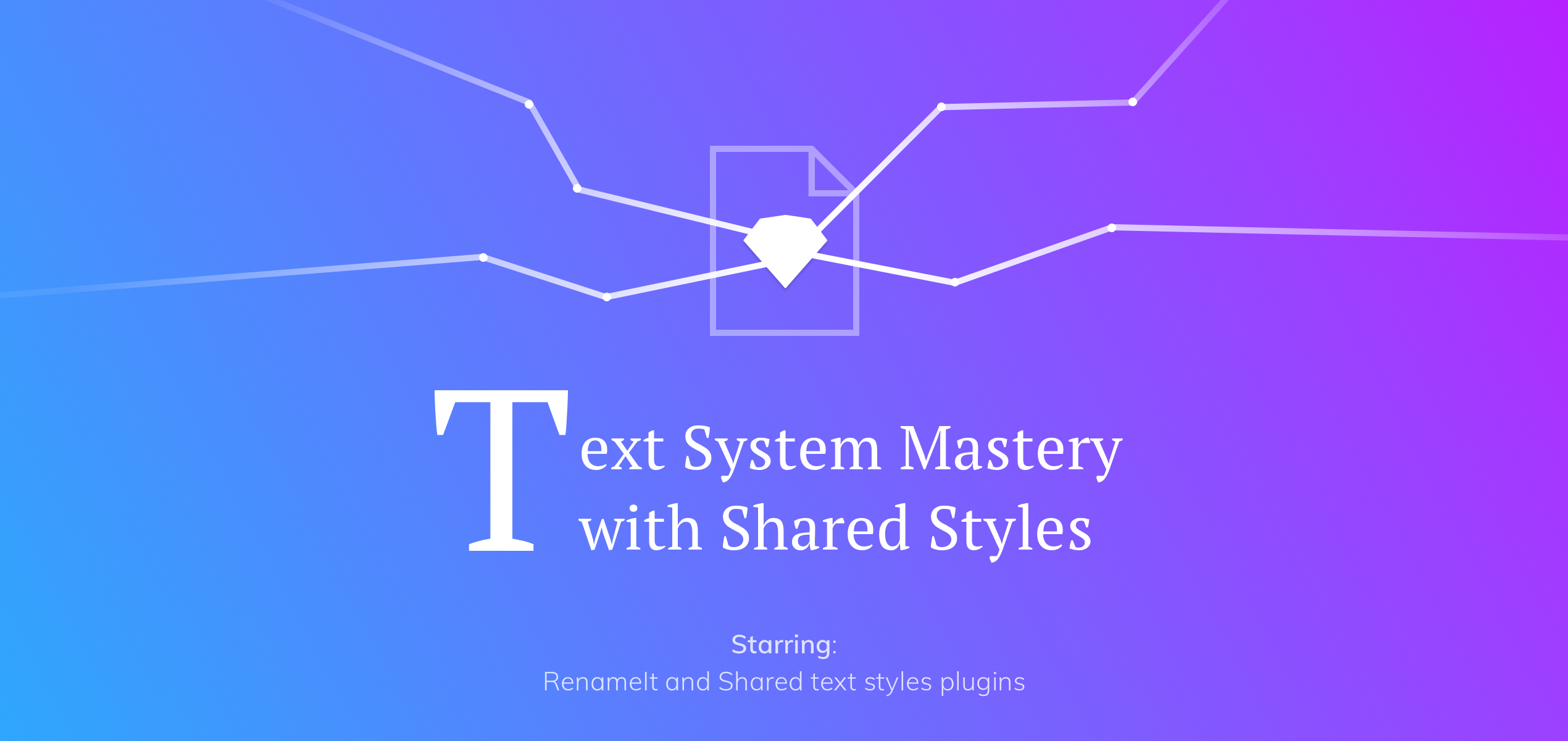 30c1ab50a43 Text System Mastery with Shared Styles – Design + Sketch – Medium