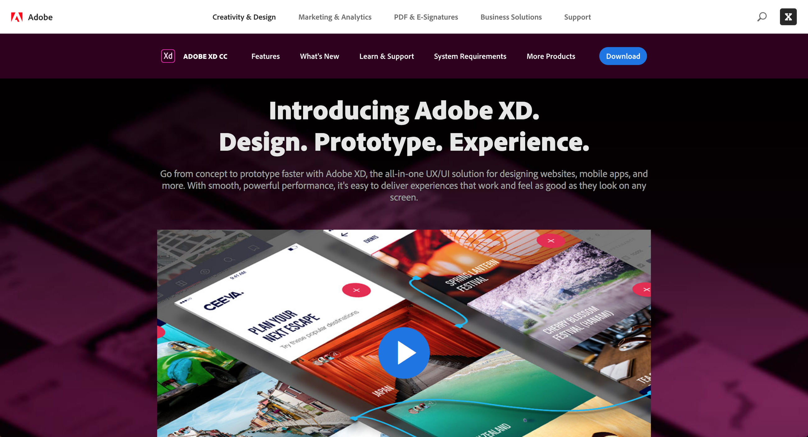 So Adobe Xd Cc Is Out What Now Prototypr