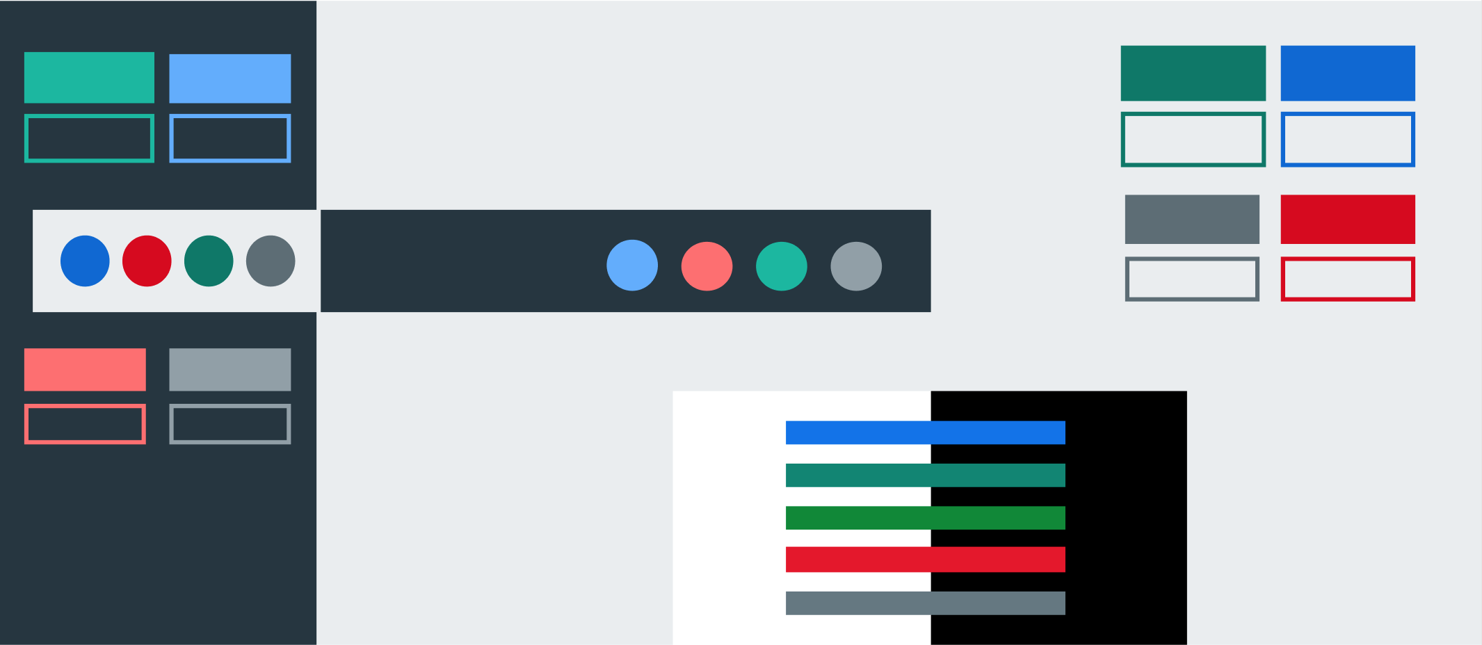 A11y Color Contrast Button Triads And The New Pivotal Ui Color Palette