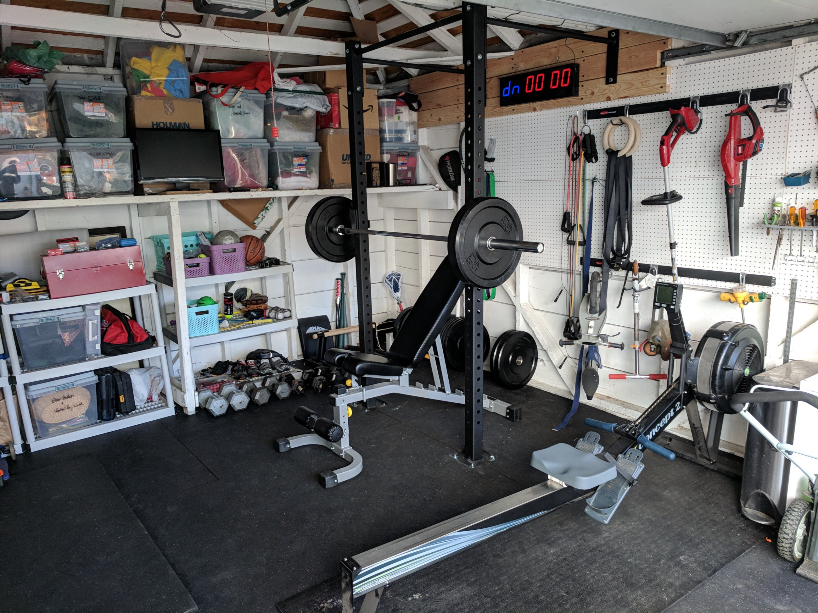 Diy the garage gym u adam neary u medium