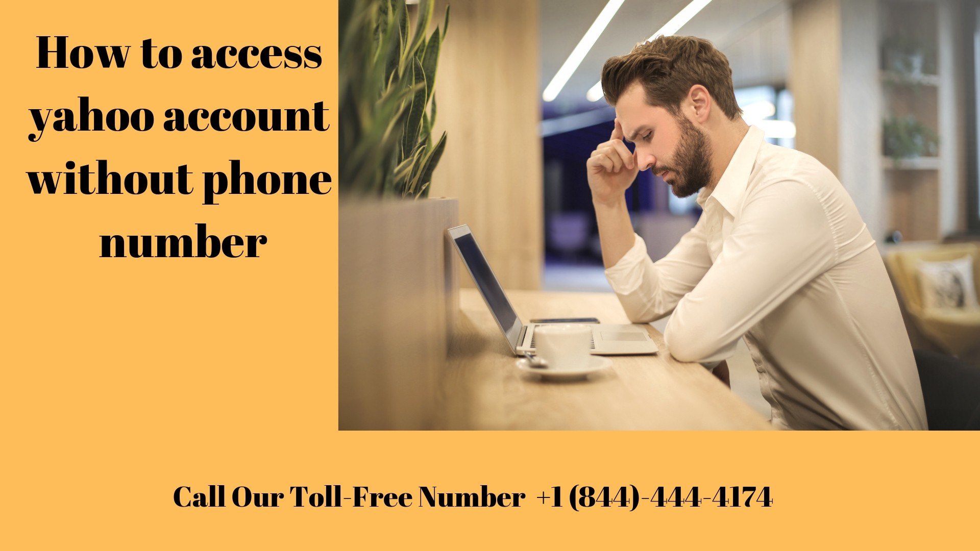 how to access yahoo account without phone number