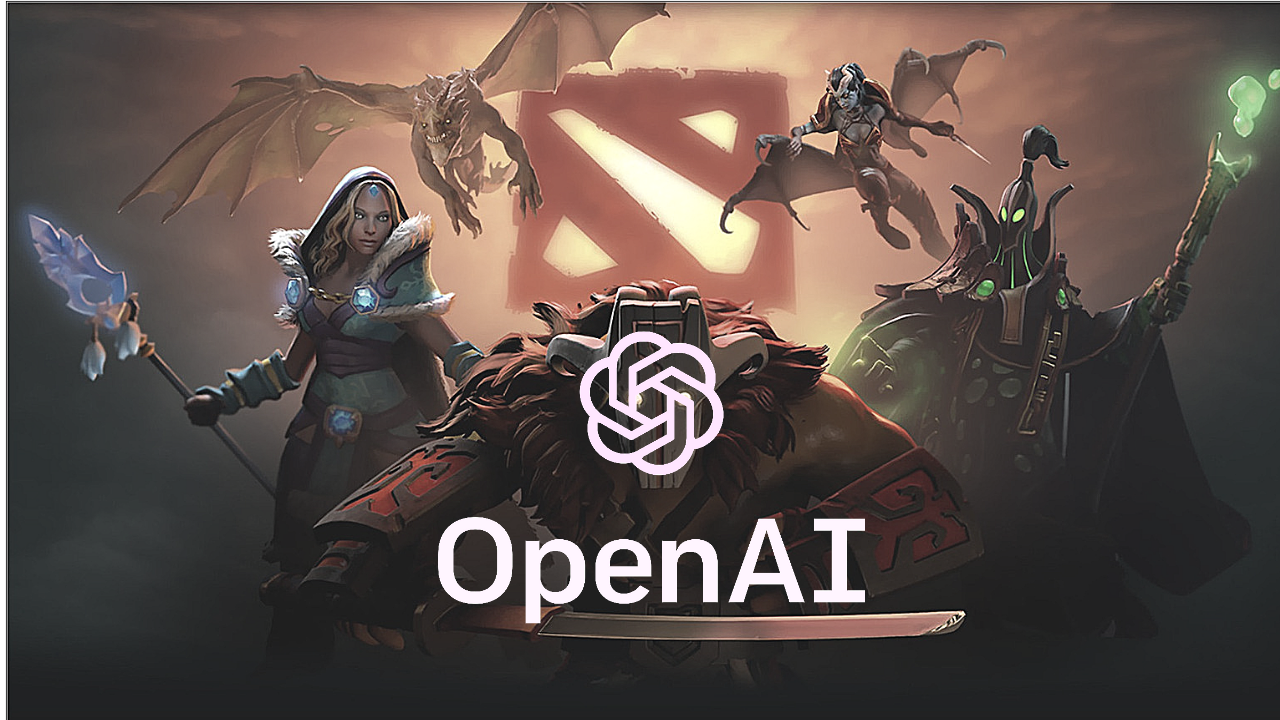 Image result for open AI dota2