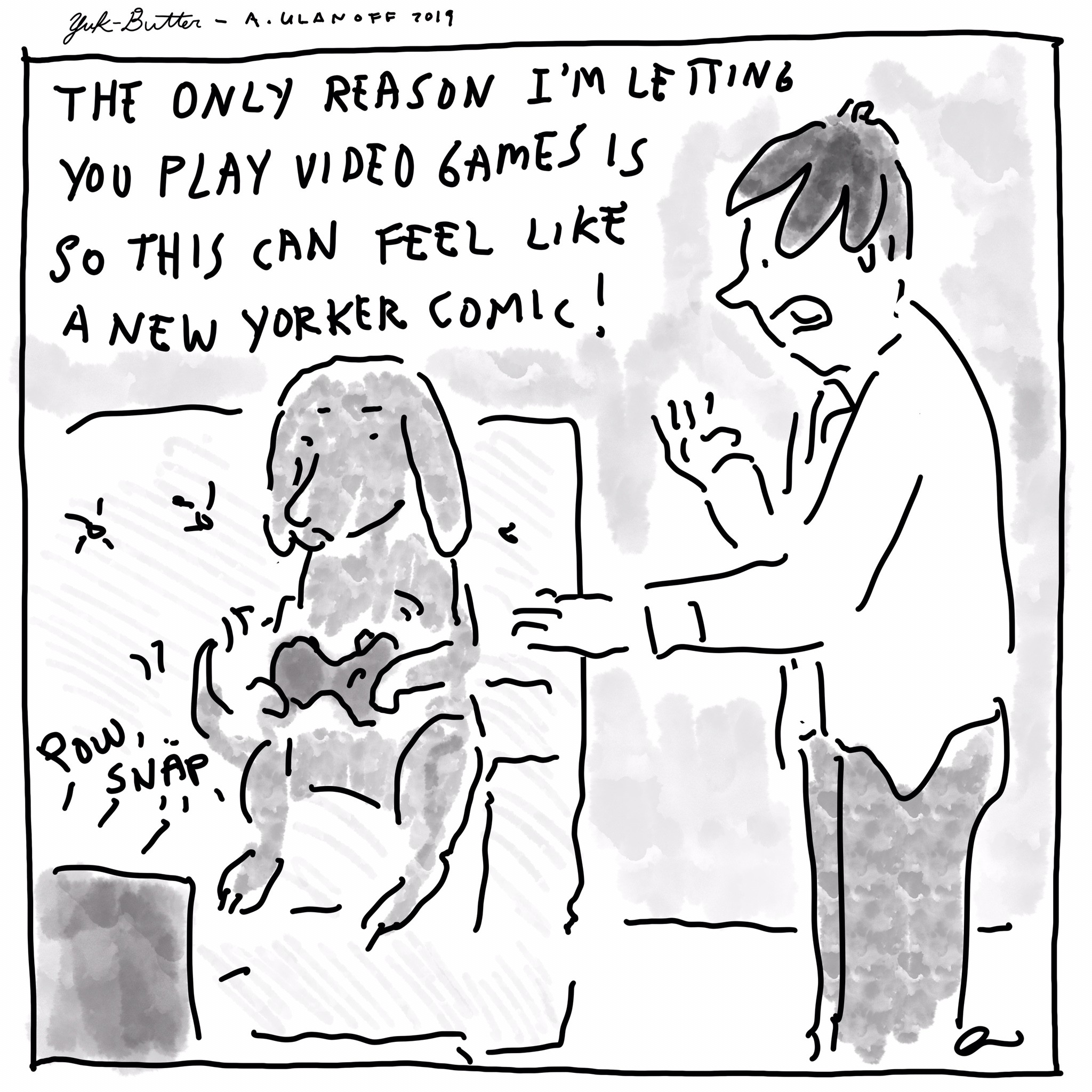 This is not a New Yorker comic
