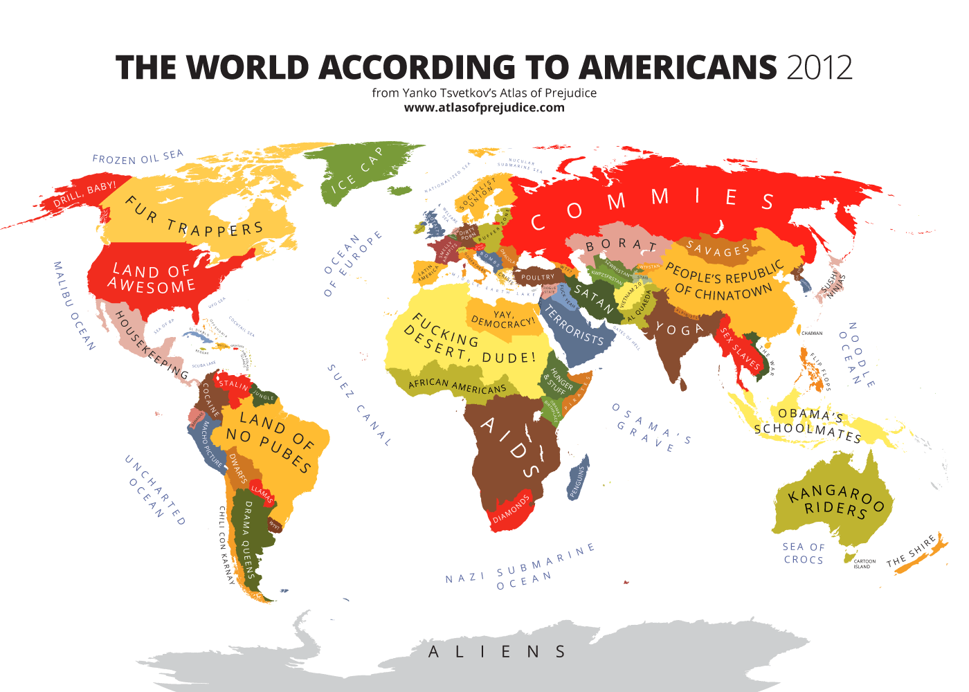The American World Atlas Of Prejudice