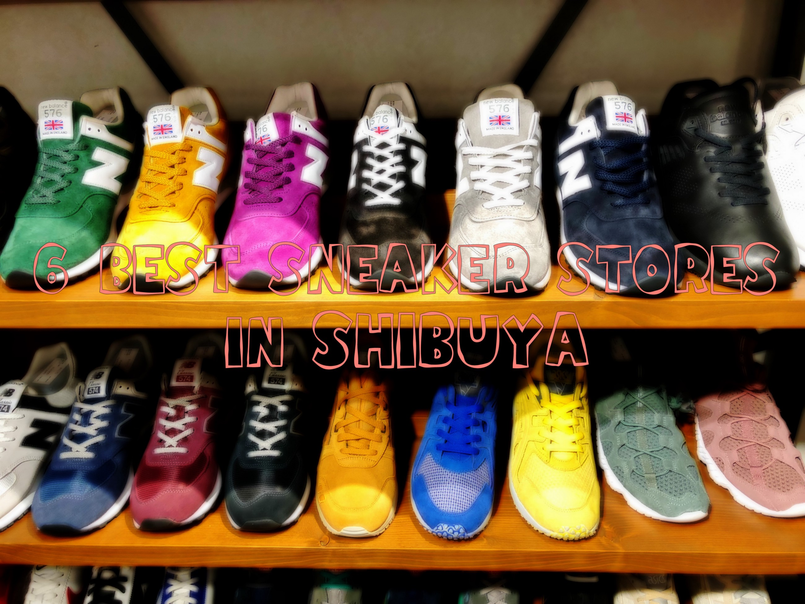 6 Best Sneaker Stores in Shibuya – Japan Travel Guide -JW Web Magazine 403442f925
