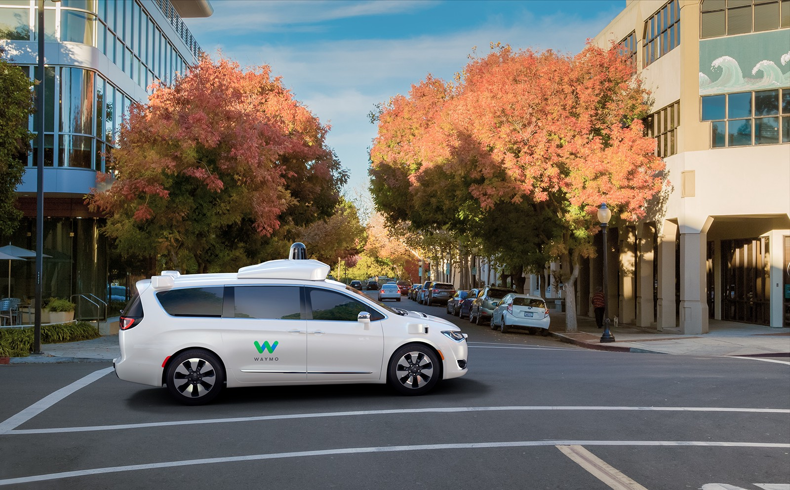 A First Look At Our Waymo Fully Self Driving Chrysler Pacifica Hybrid Minivans