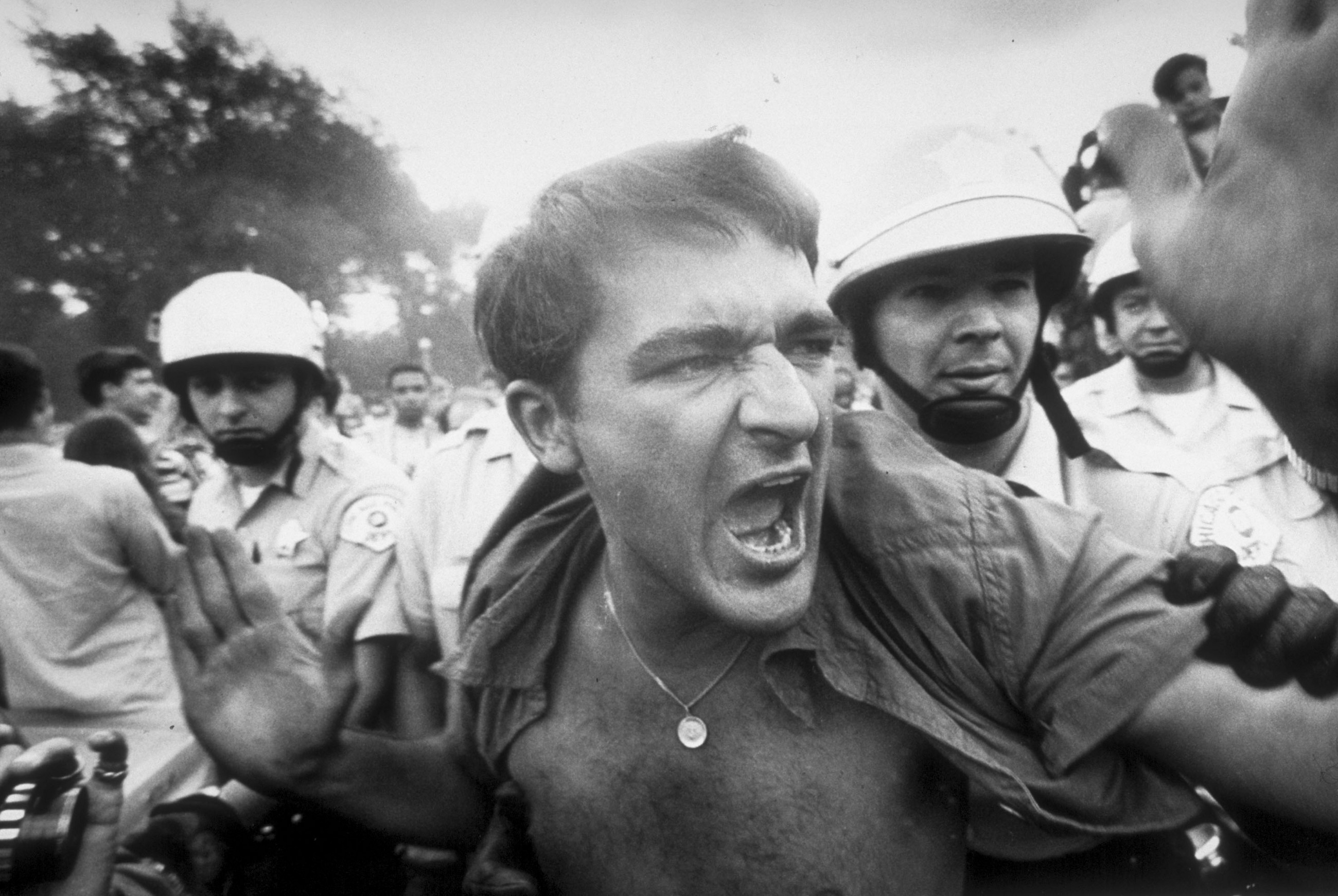 When the resistance confronted Democrats in 1968, the crackdown was vicious