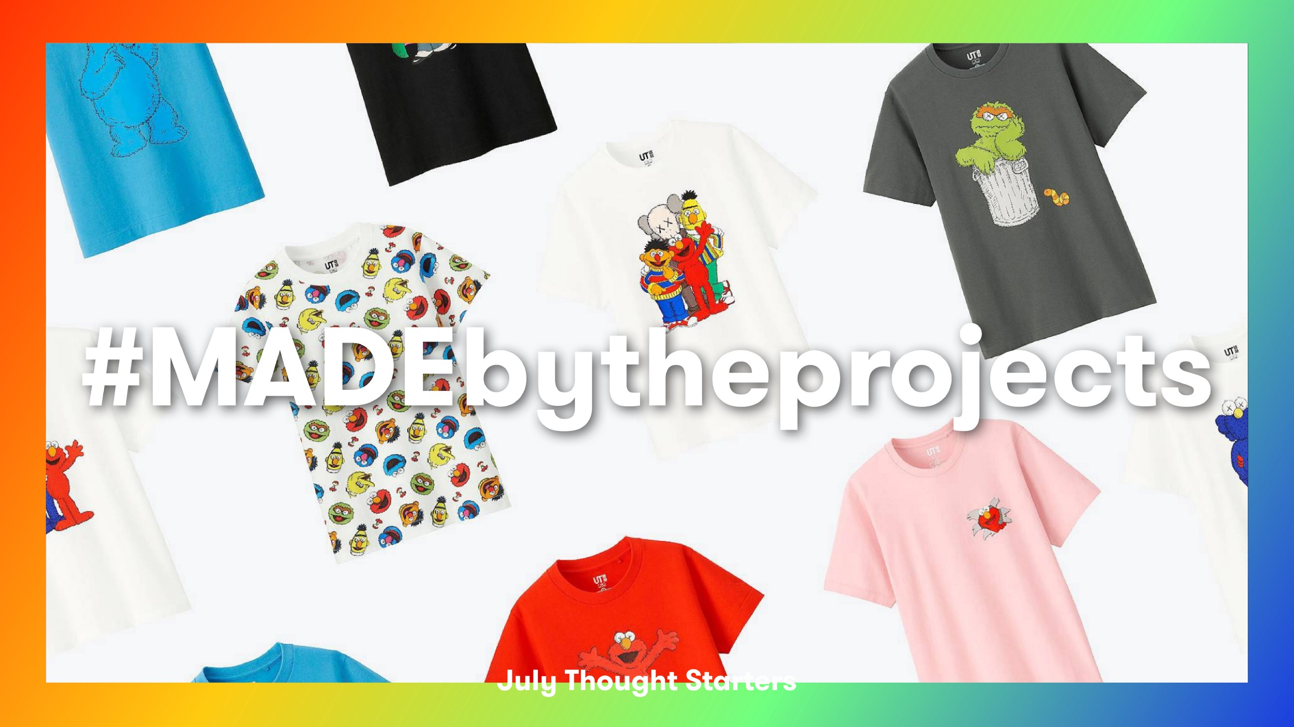 628d235cd Hello all, here is July's edition of our thought starters, all directed at  the world of merchandise, partnerships and collaborations.