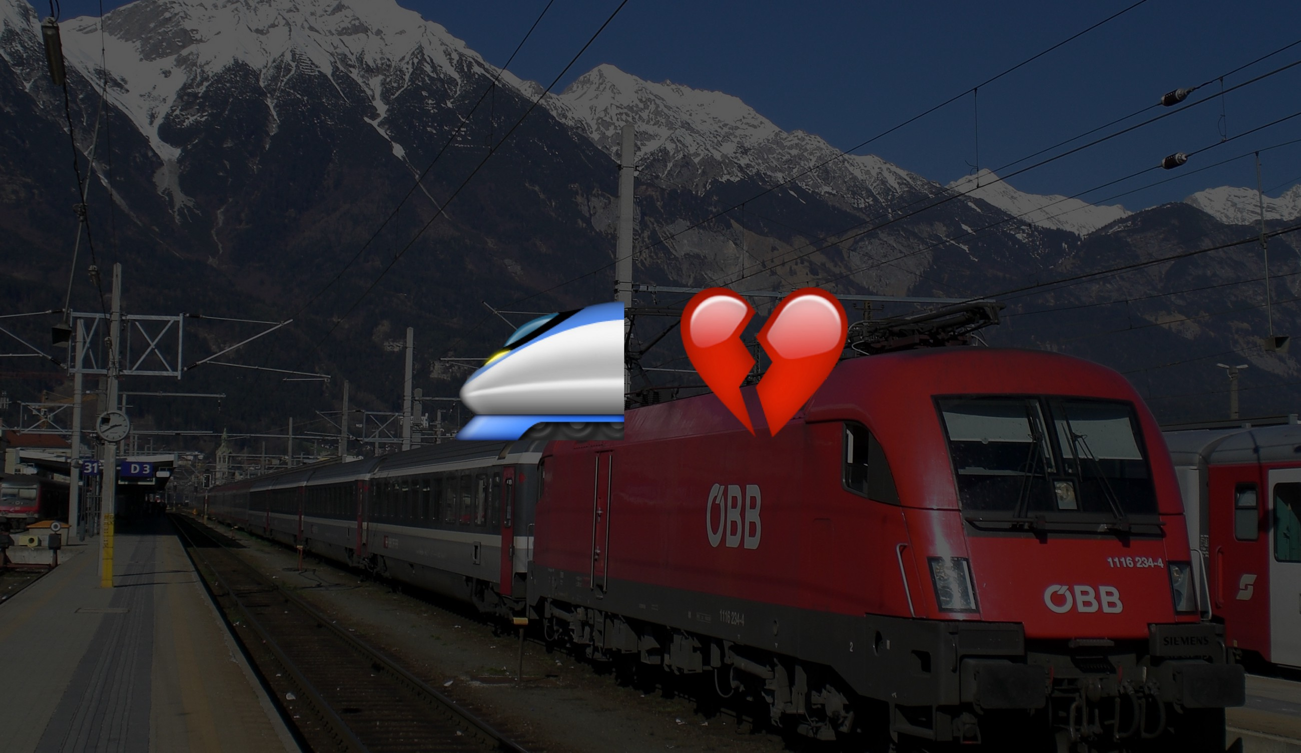 I Tried To Buy A Ticket For An öbb Train And It Was Impossible