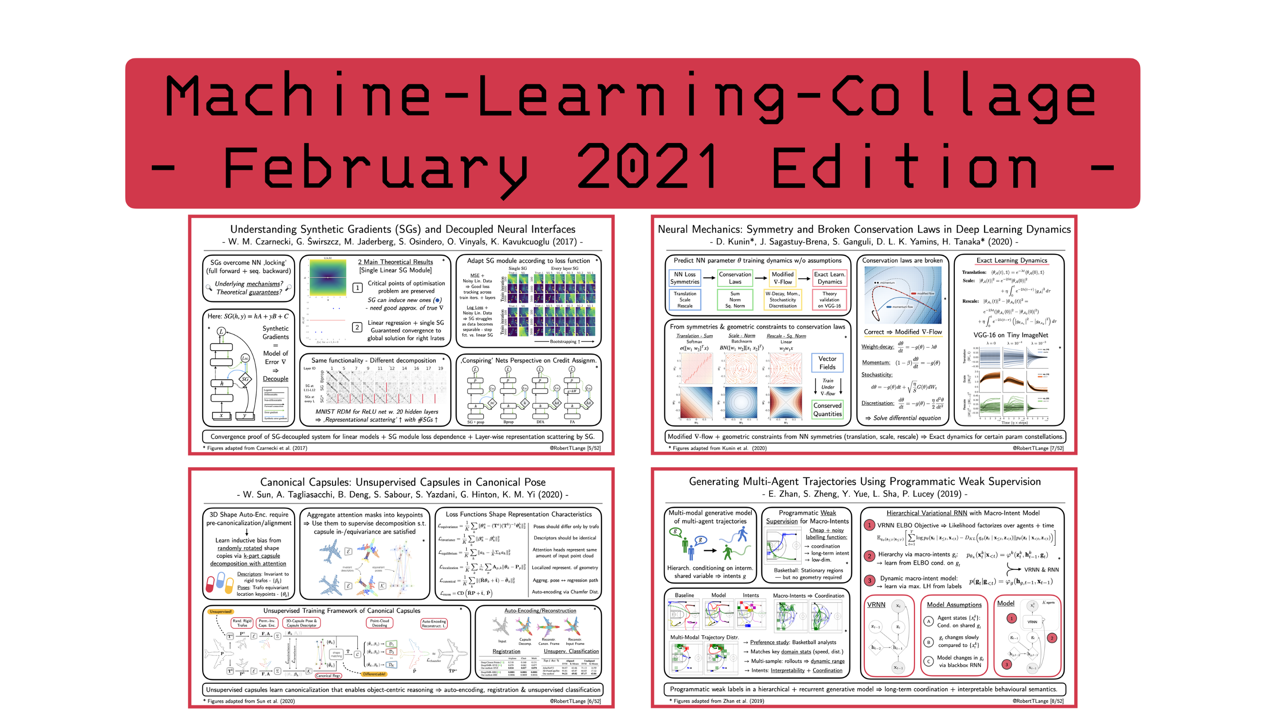Four Deep Learning Papers to Read in March 2021
