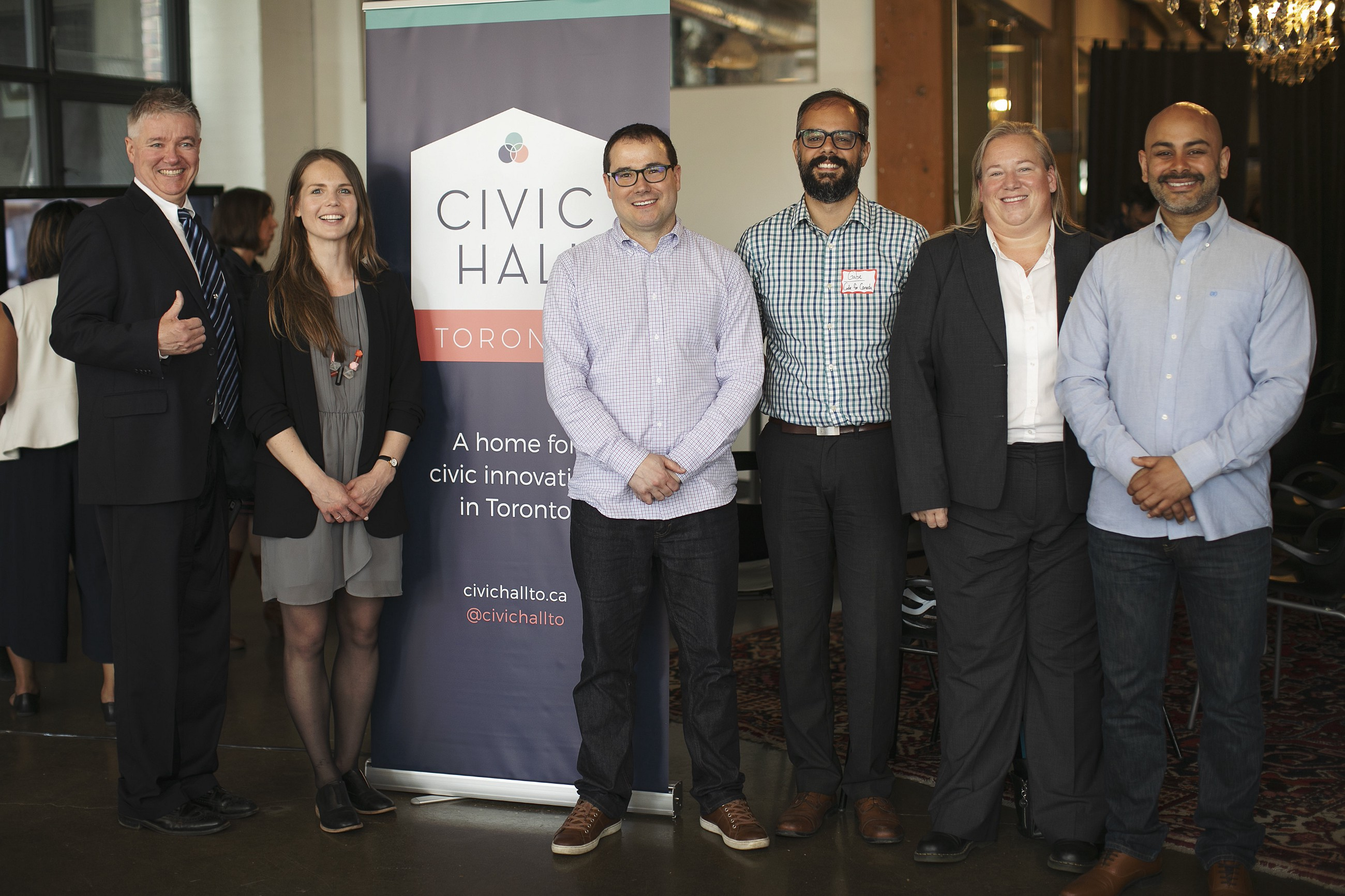 Civic Hall Toronto's First Quarter: Sharing, Learning, Collaborating