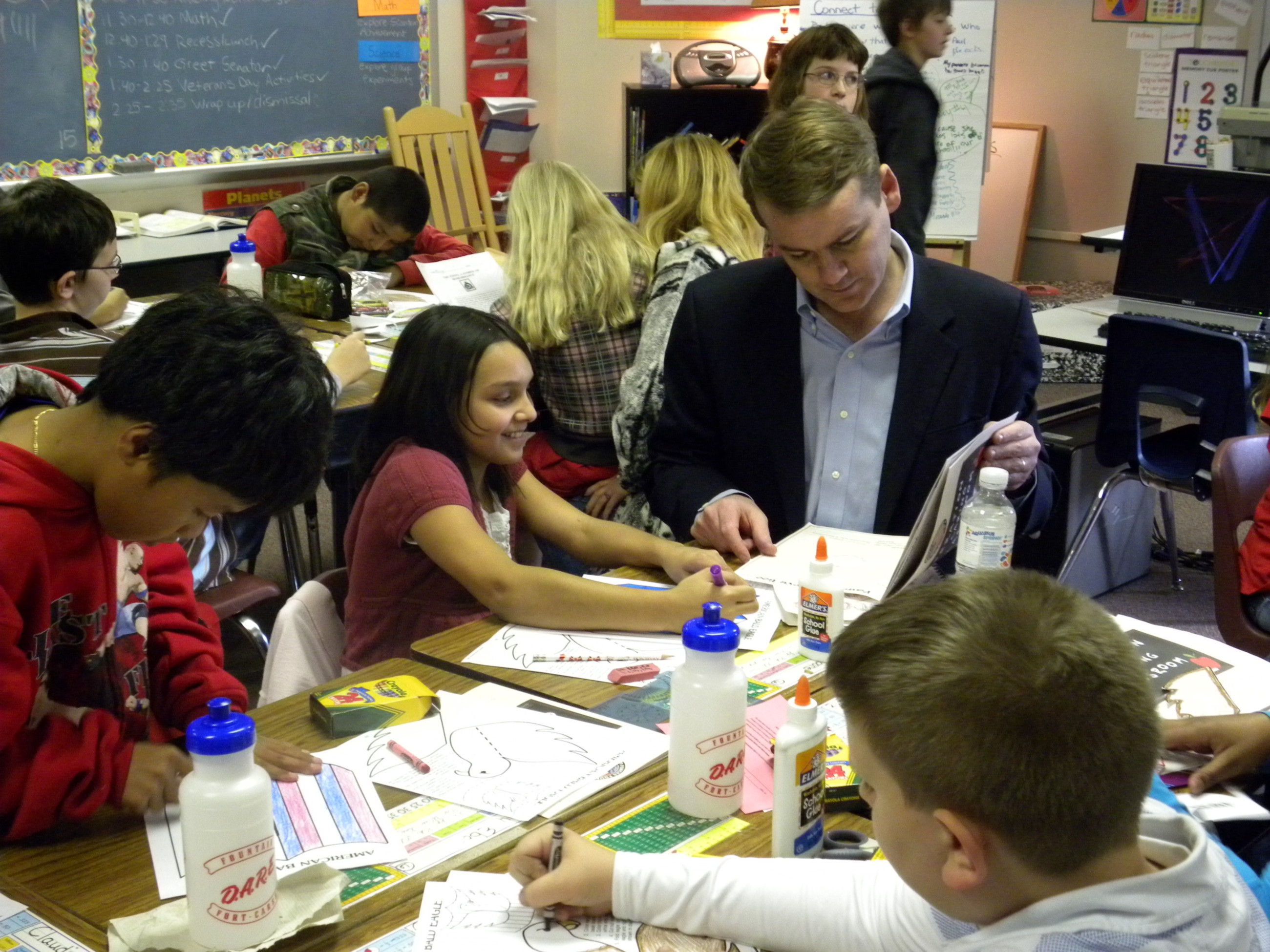 Education Issues At Stake As Senate >> Why Education Is Essential To Our Democracy Senator Michael Bennet