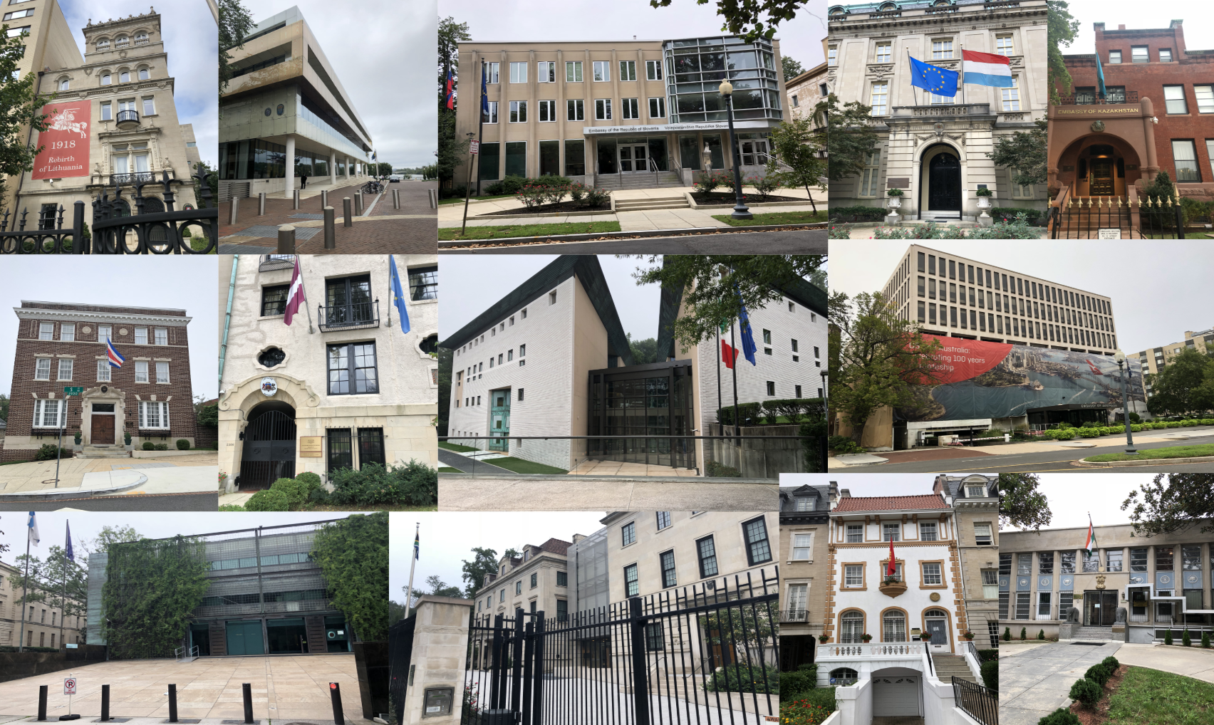How To Visit All 177 Dc Embassies In Under 9 Hours