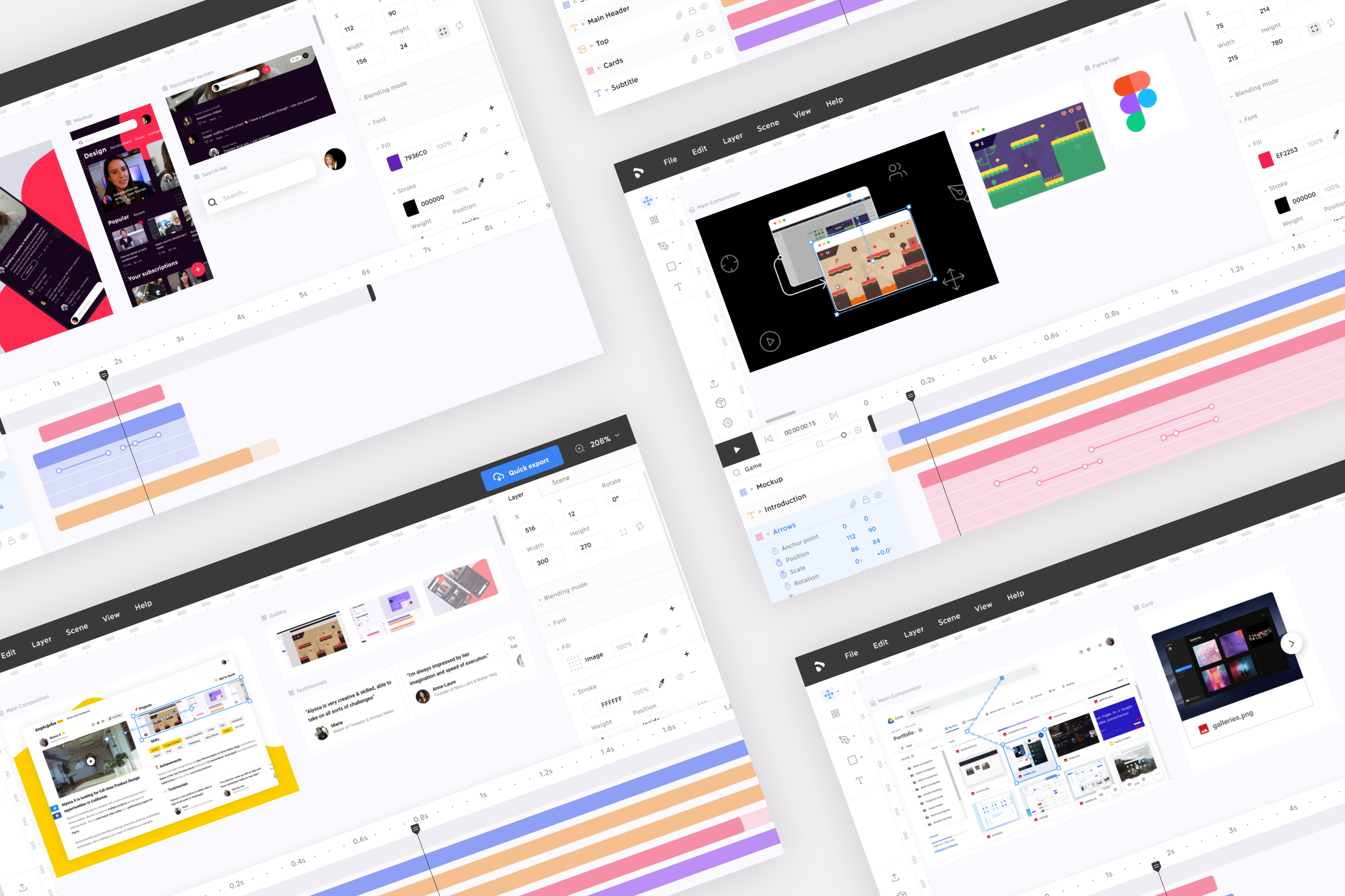 Building a Web-Based Motion Graphics Editor