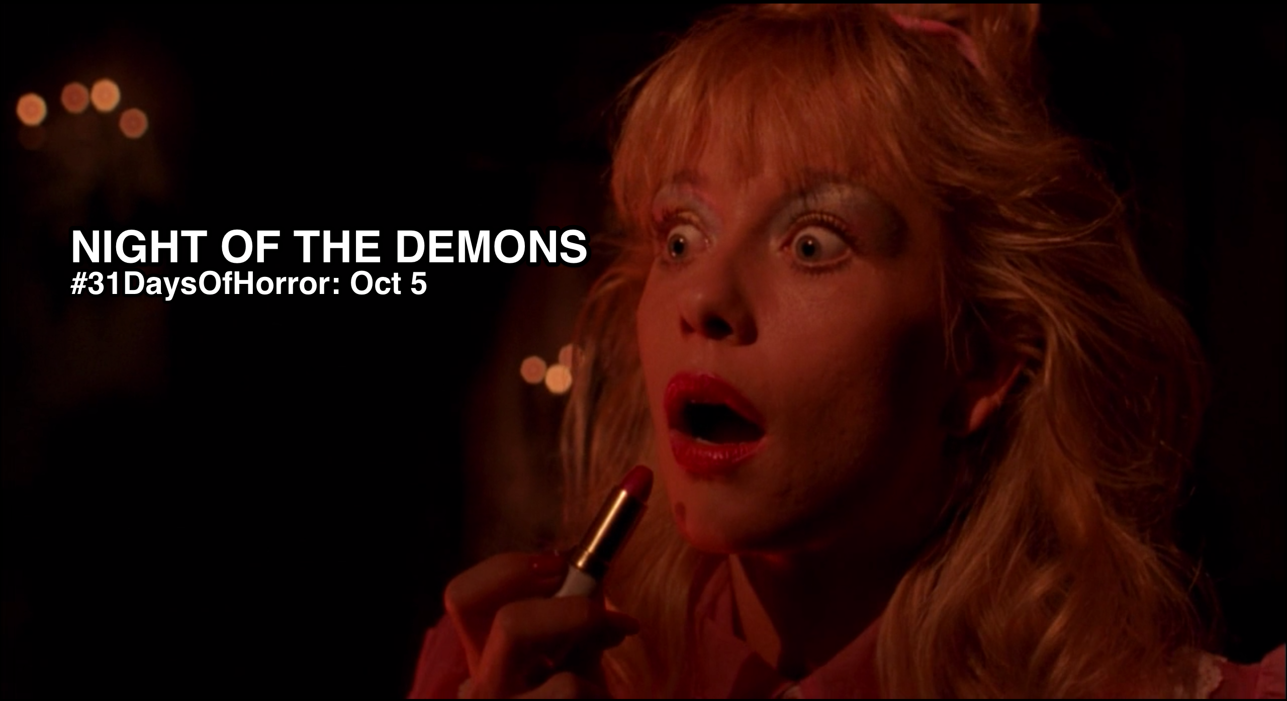 'NIGHT OF THE DEMONS (1988)' deserves more recognition as a camp masterpiece