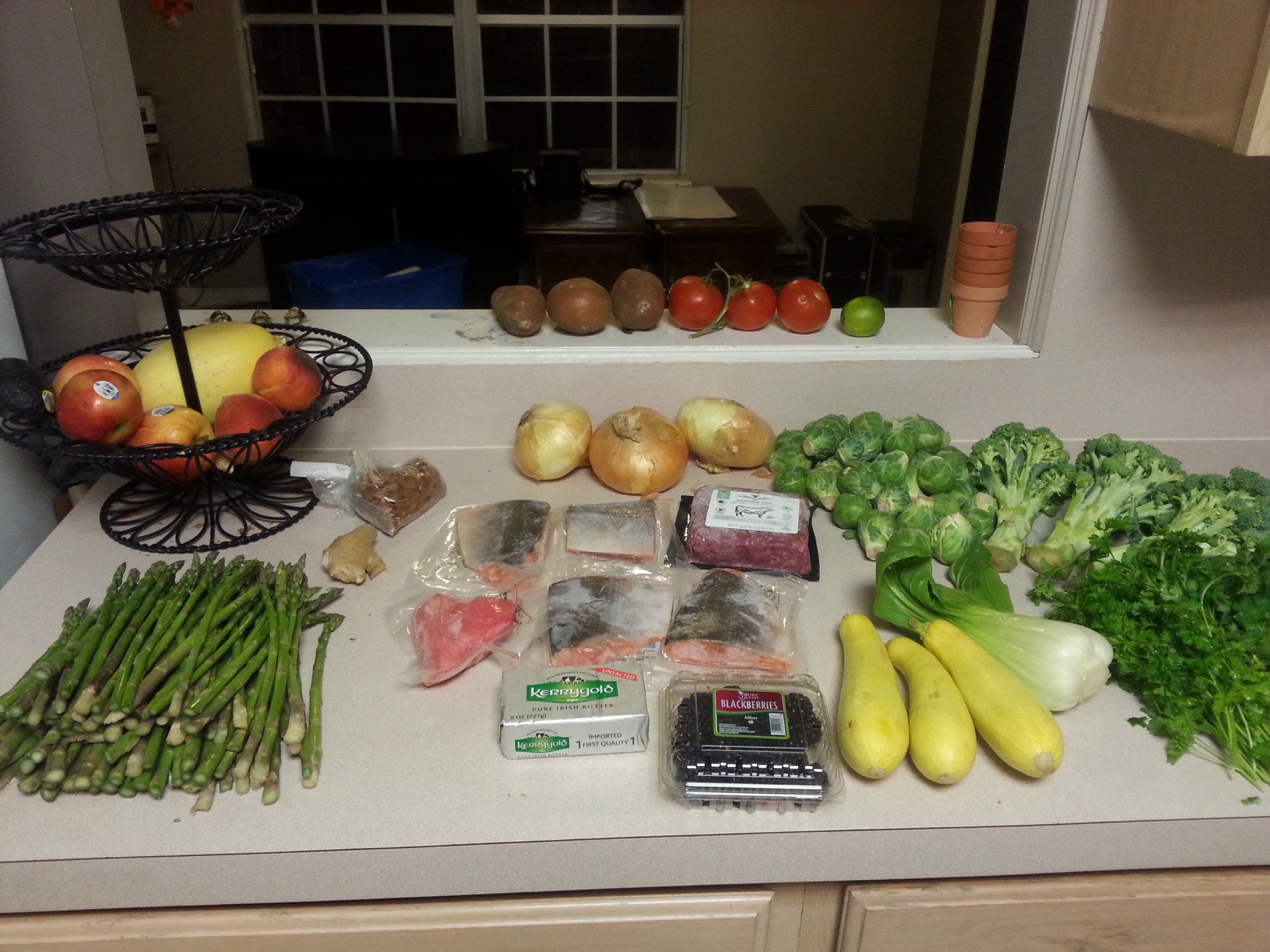Bulletproof — Putting fresh groceries and produce away at home