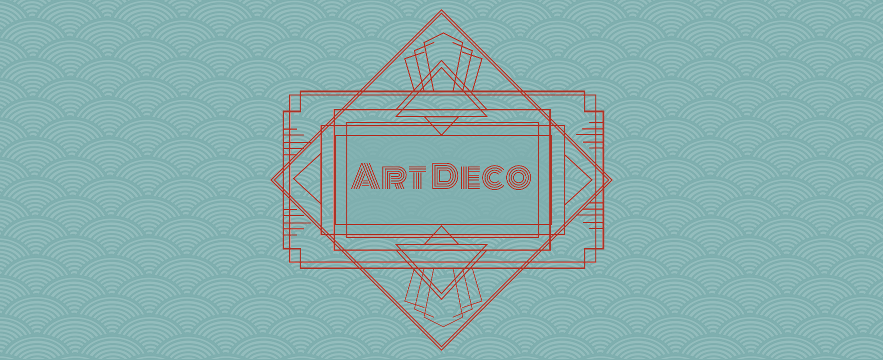 Create an art deco inspired vector logo in gravit designer