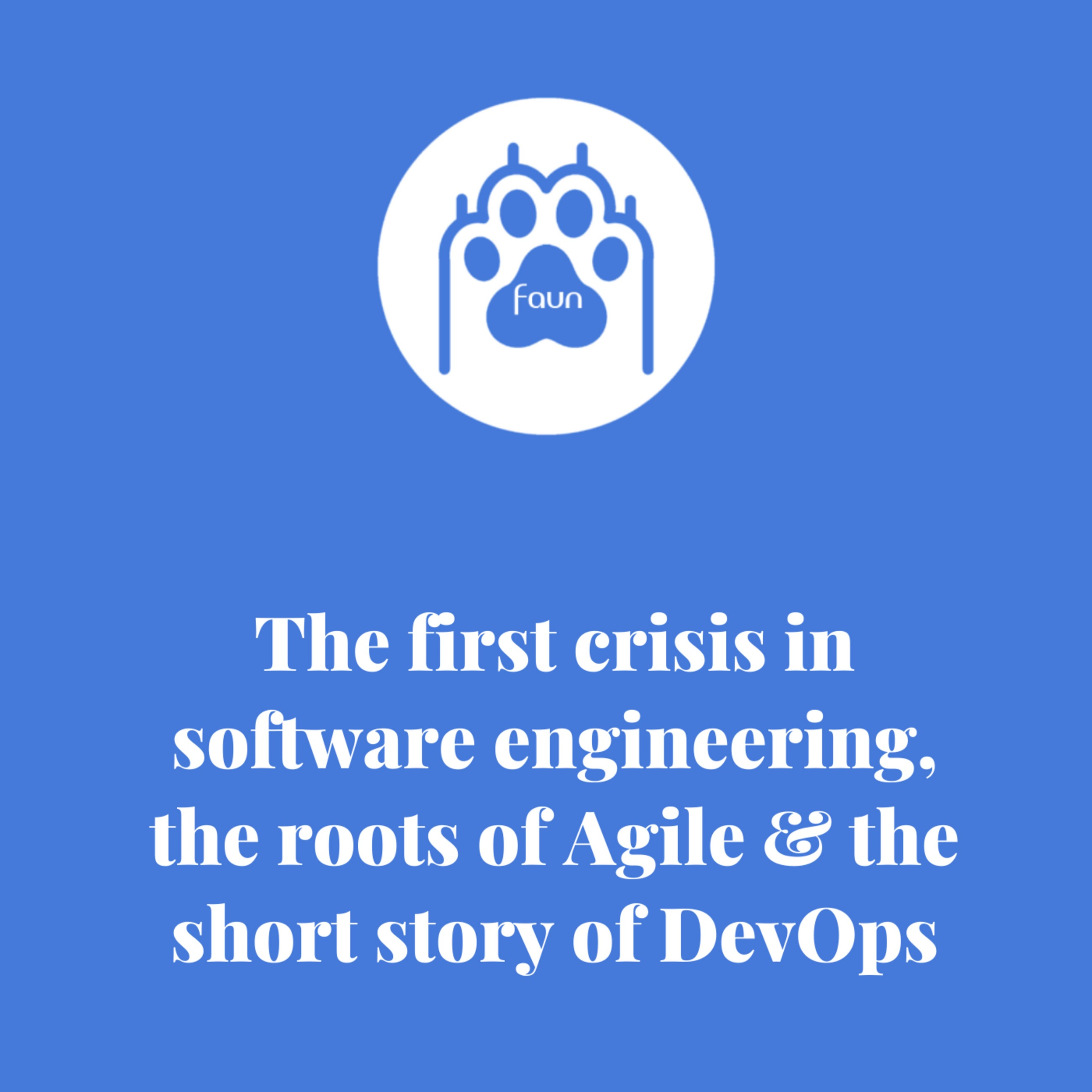The 1st Crisis in Software Engineering, the Roots of Agile and the Short Story of DevOps