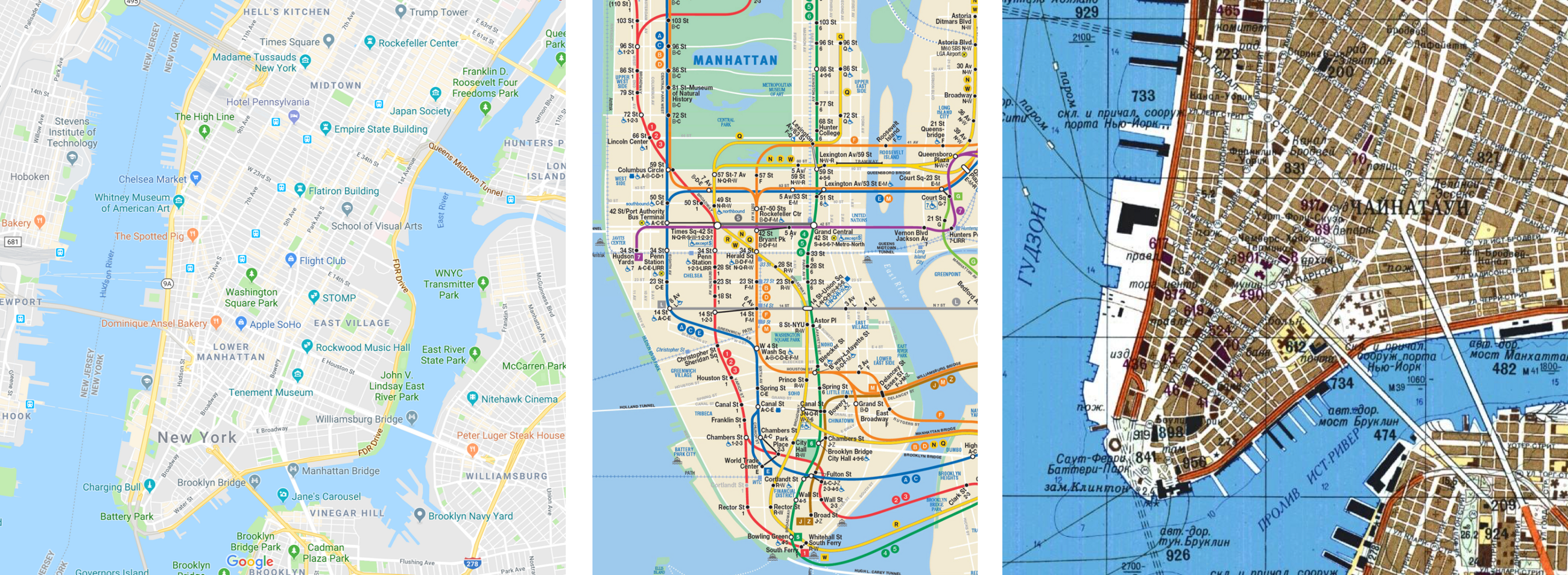 The Evolution of Map Design, From Medieval Latin to Google Maps