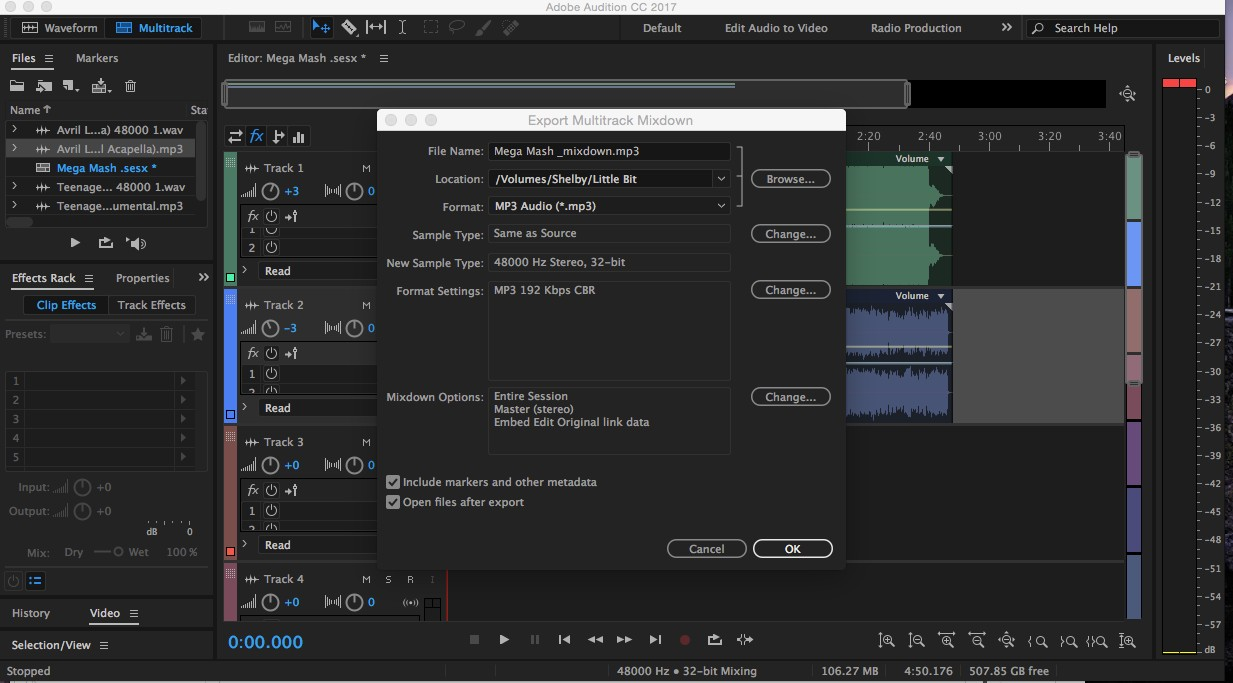 Introduction to Adobe Audition – Shelby Filangi – Medium