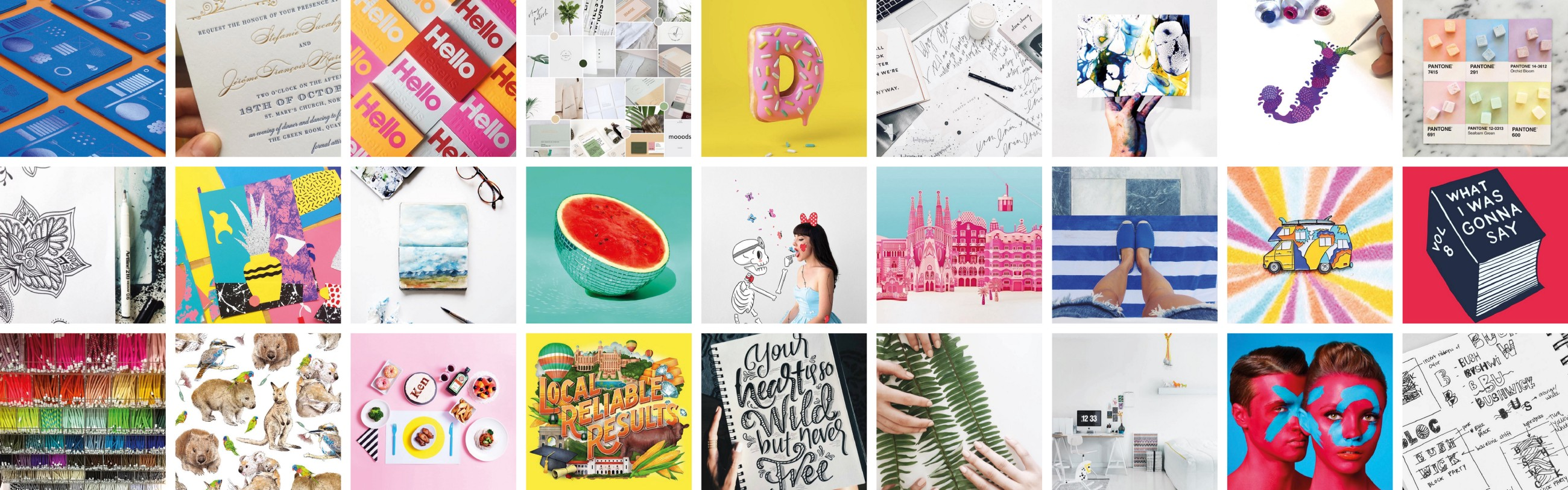 ea8ca4534d707a 60 of the Best Graphic Designers to Follow on Behance