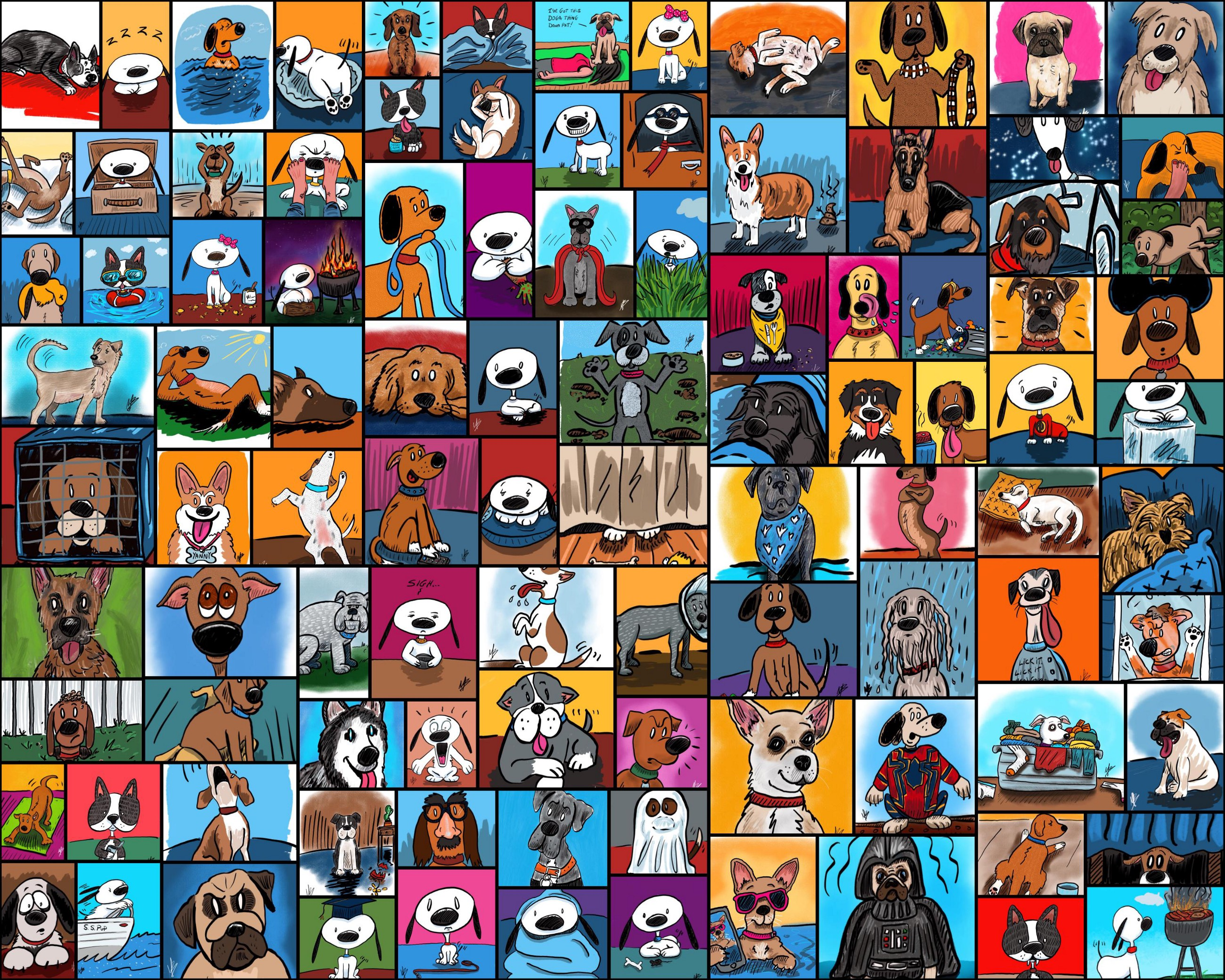 Image of: Png My 100 Day Project 100 Days Of Cartoon Dogs Art Marketing My 100 Day Project 100 Days Of Cartoon Dogs Art Marketing