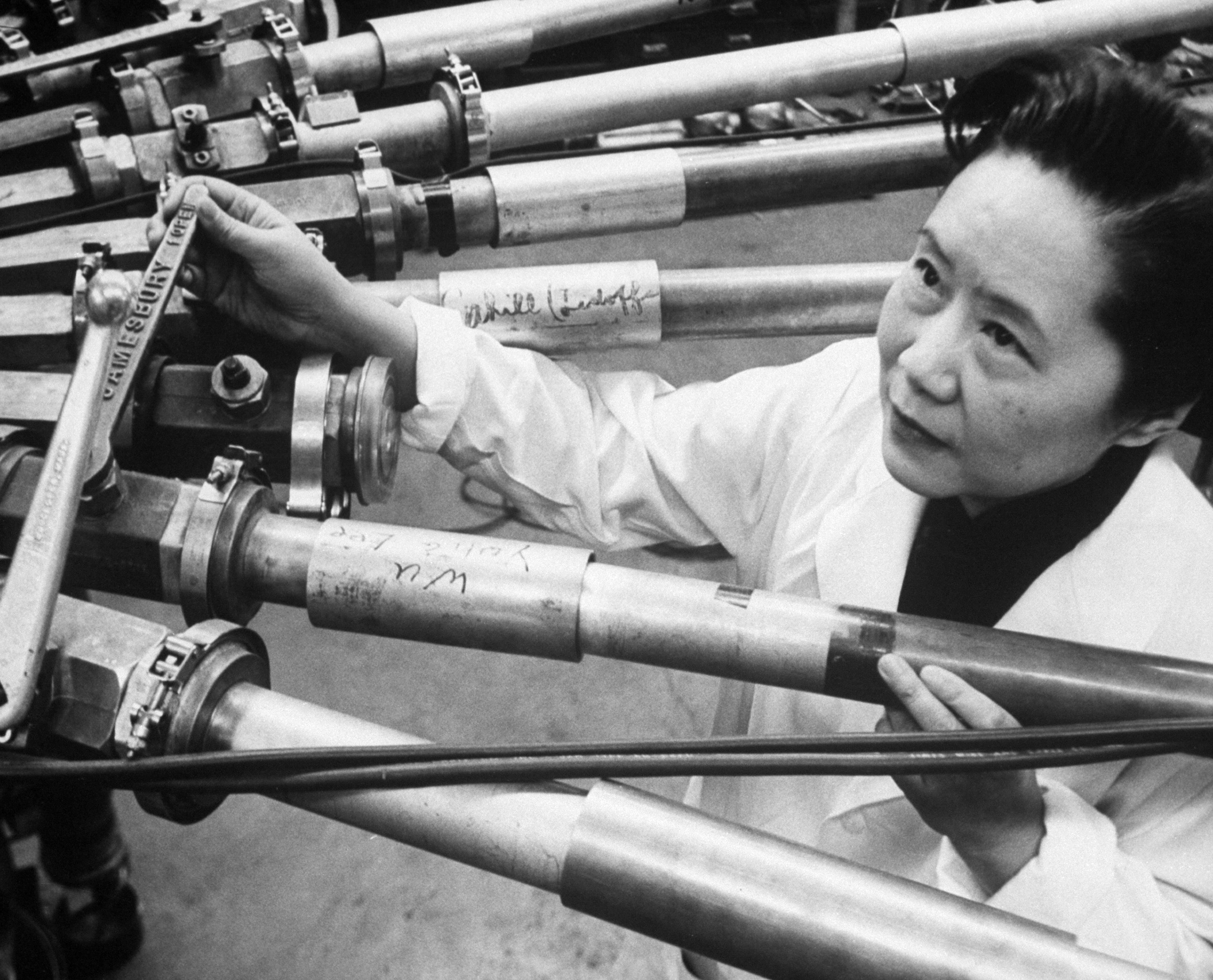 This brilliant Chinese scientist was taught she was just as capable as men. Then she came to America