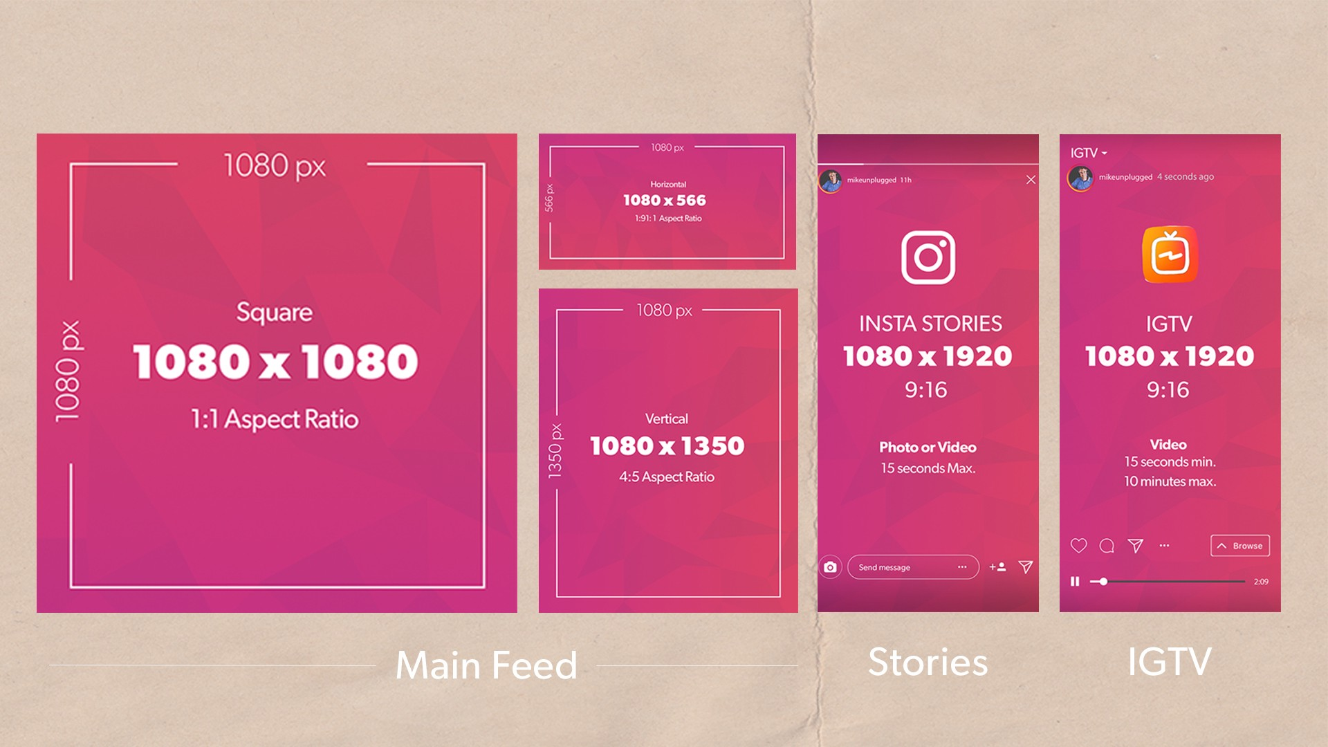 How to create an Instagram puzzle feed without photoshop Ig
