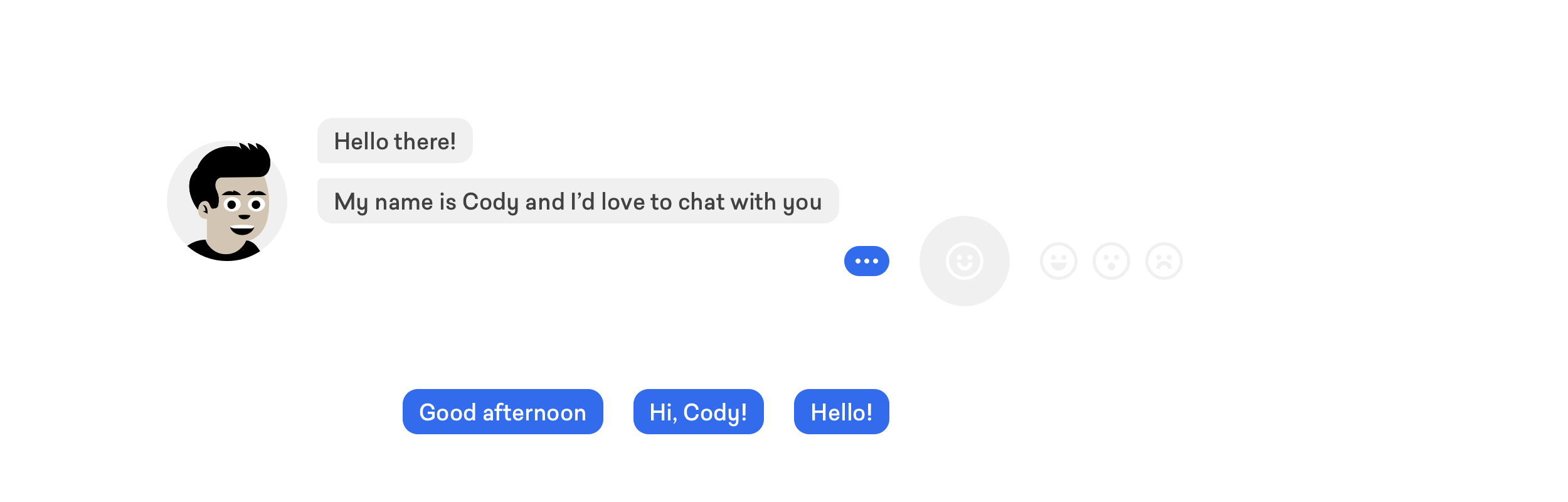 i love to chat with you