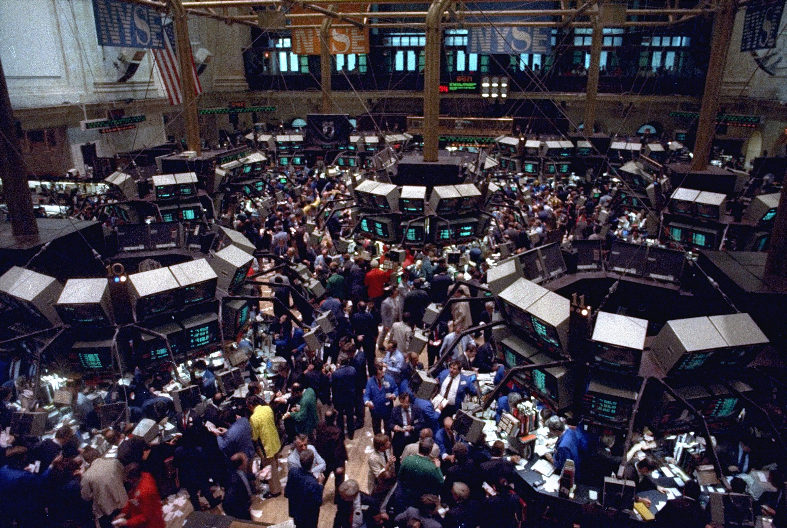 Photos Black Monday The 1987 Market Crash That Made Us