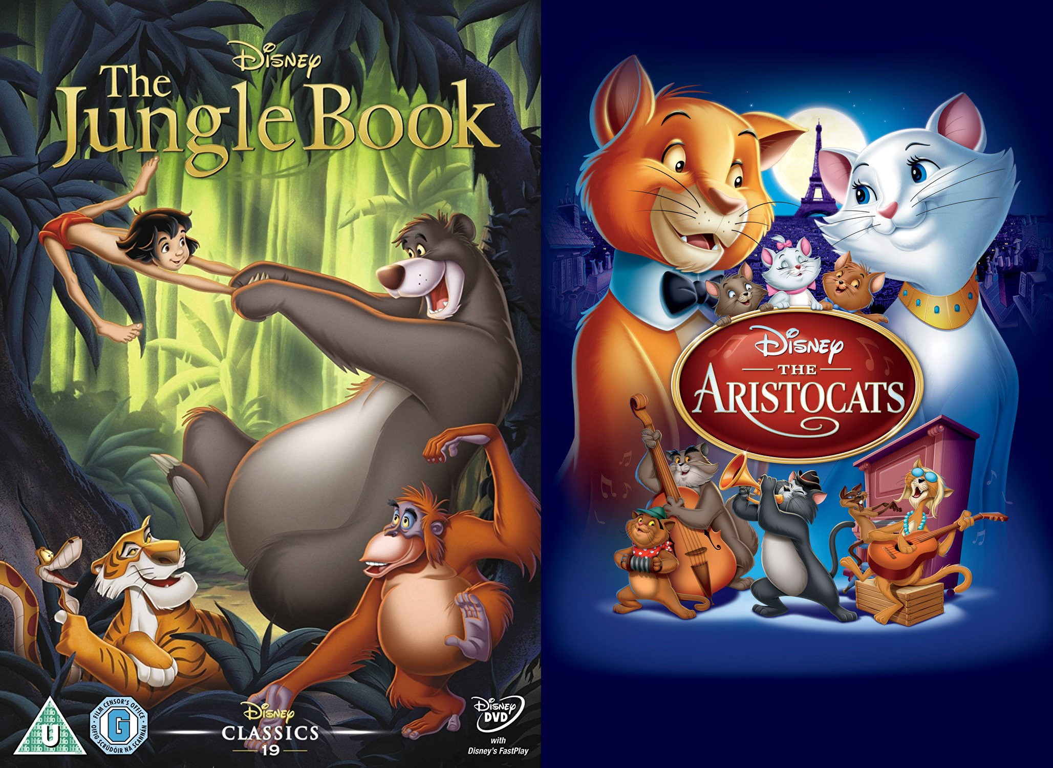 "37b43faf6f9 Feminisney  ""The Jungle Book"" and ""The AristoCats"" – CineNation – Medium"