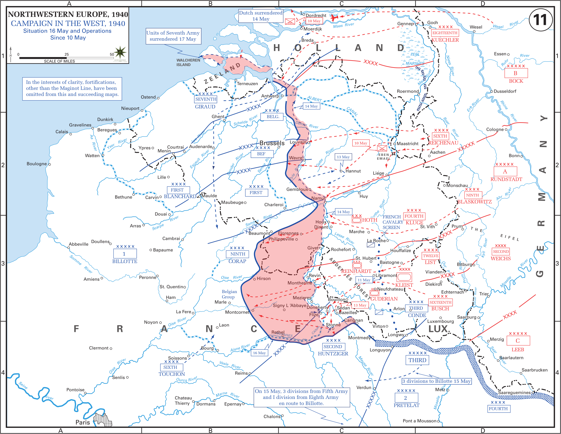 Map Of France 1940.Western Front Maps Of World War Ii Inflab Medium