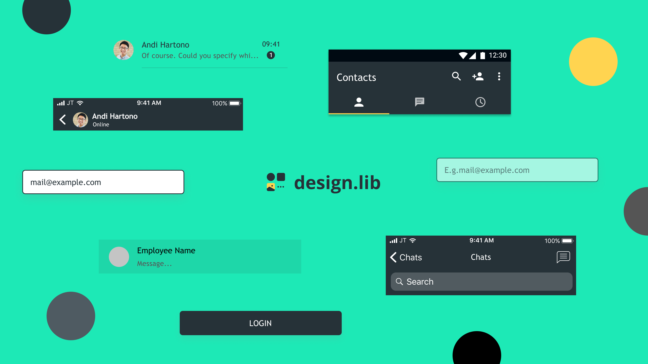 Creating Design Library with Figma