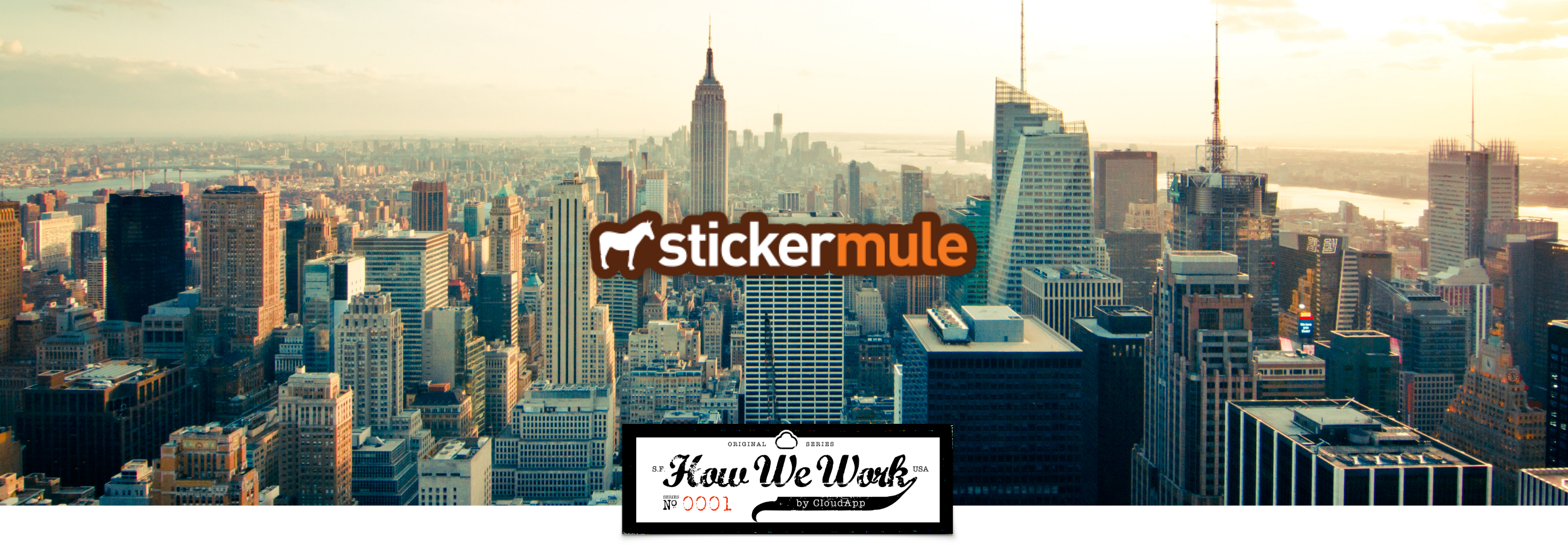 How we work sticker mule makes work seamless with cloudapp