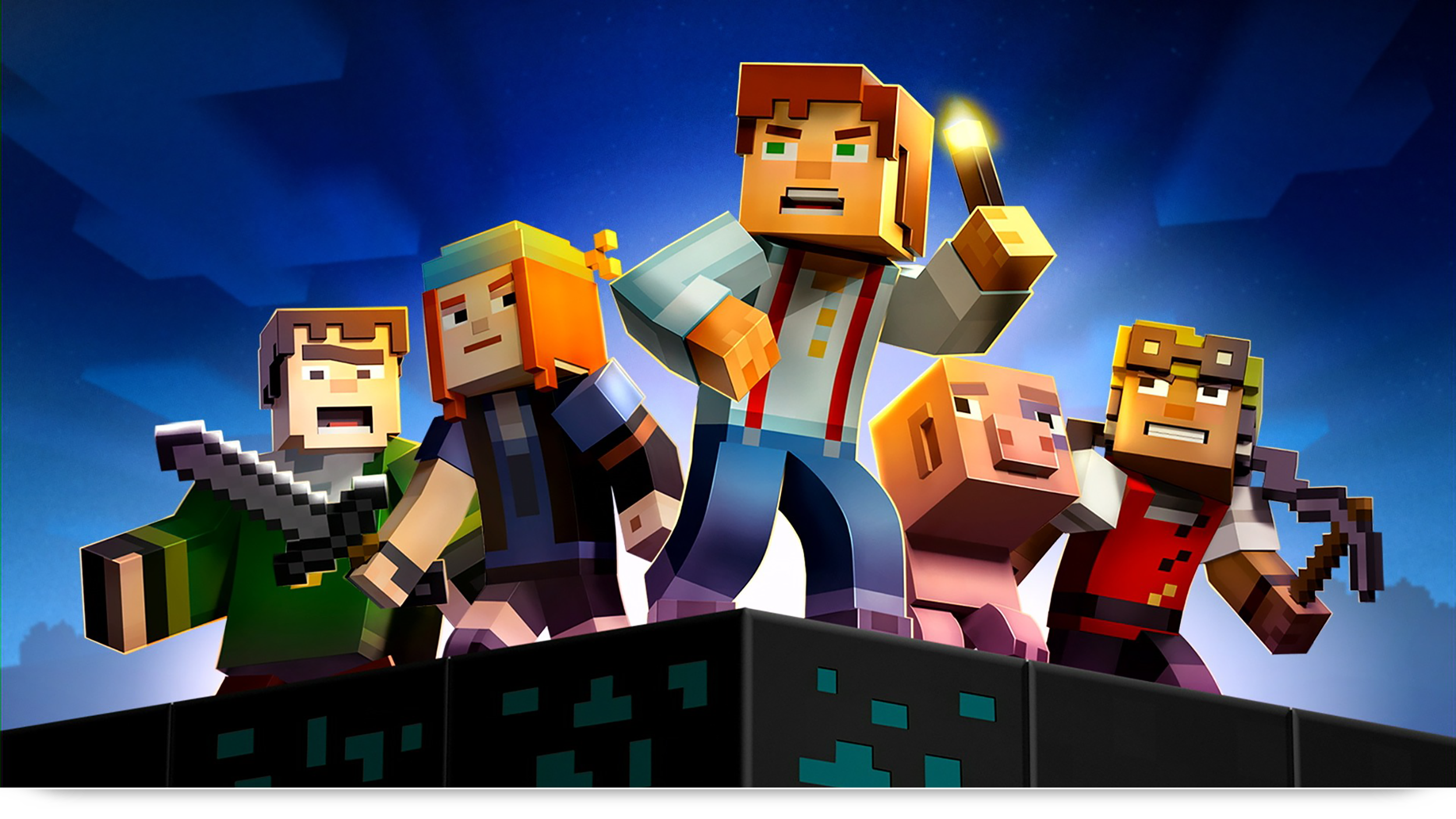 Minecraft Story Mode Episode 1 Review Super Jump Magazine Medium