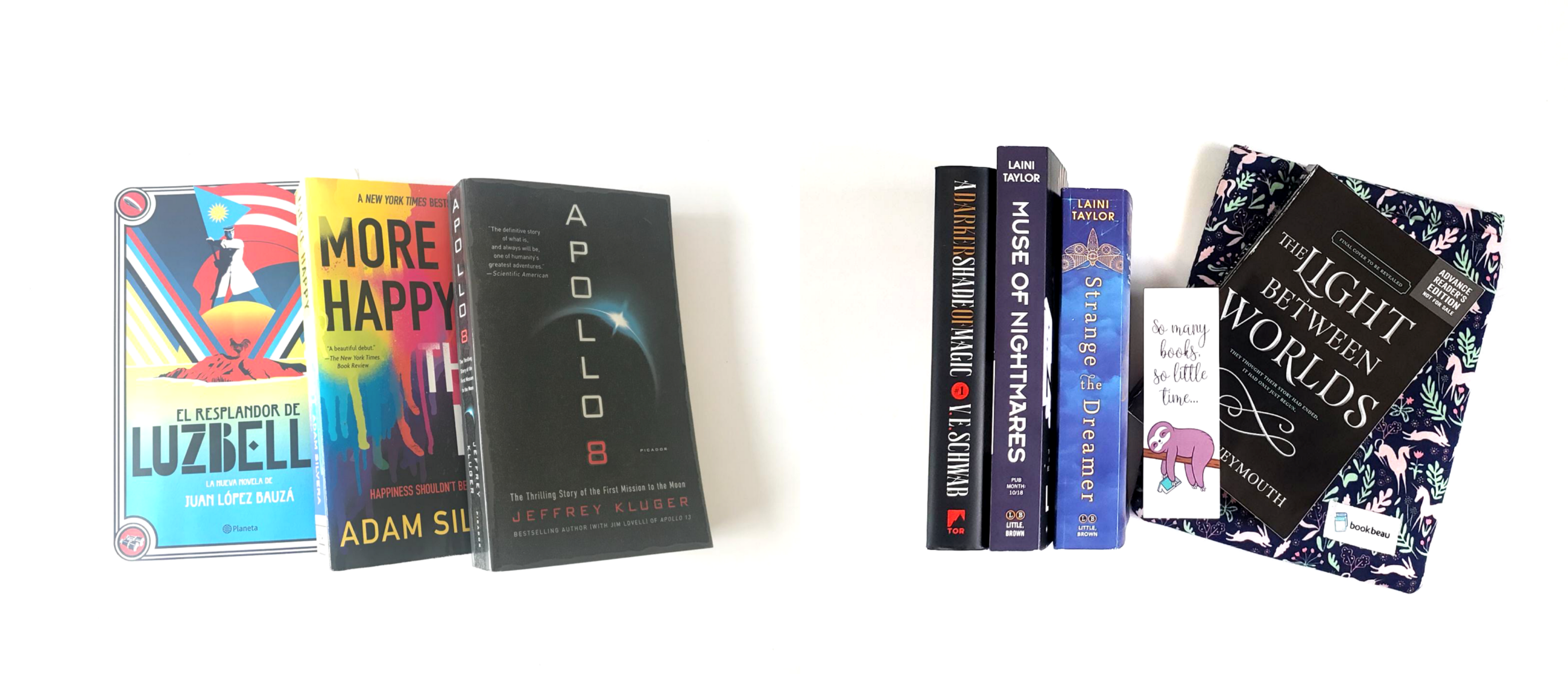 Our team's October TBR