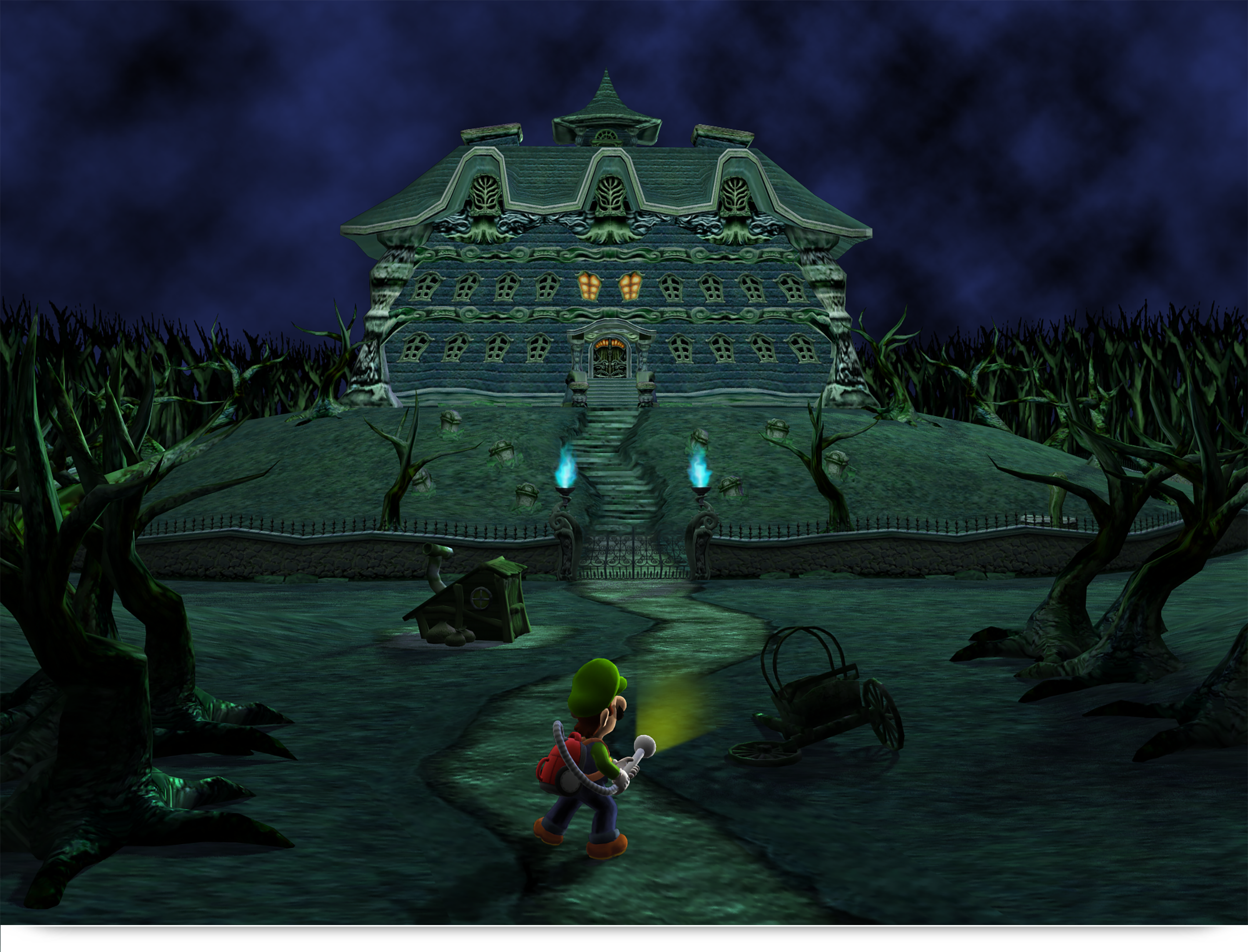 gamecube luigis mansion