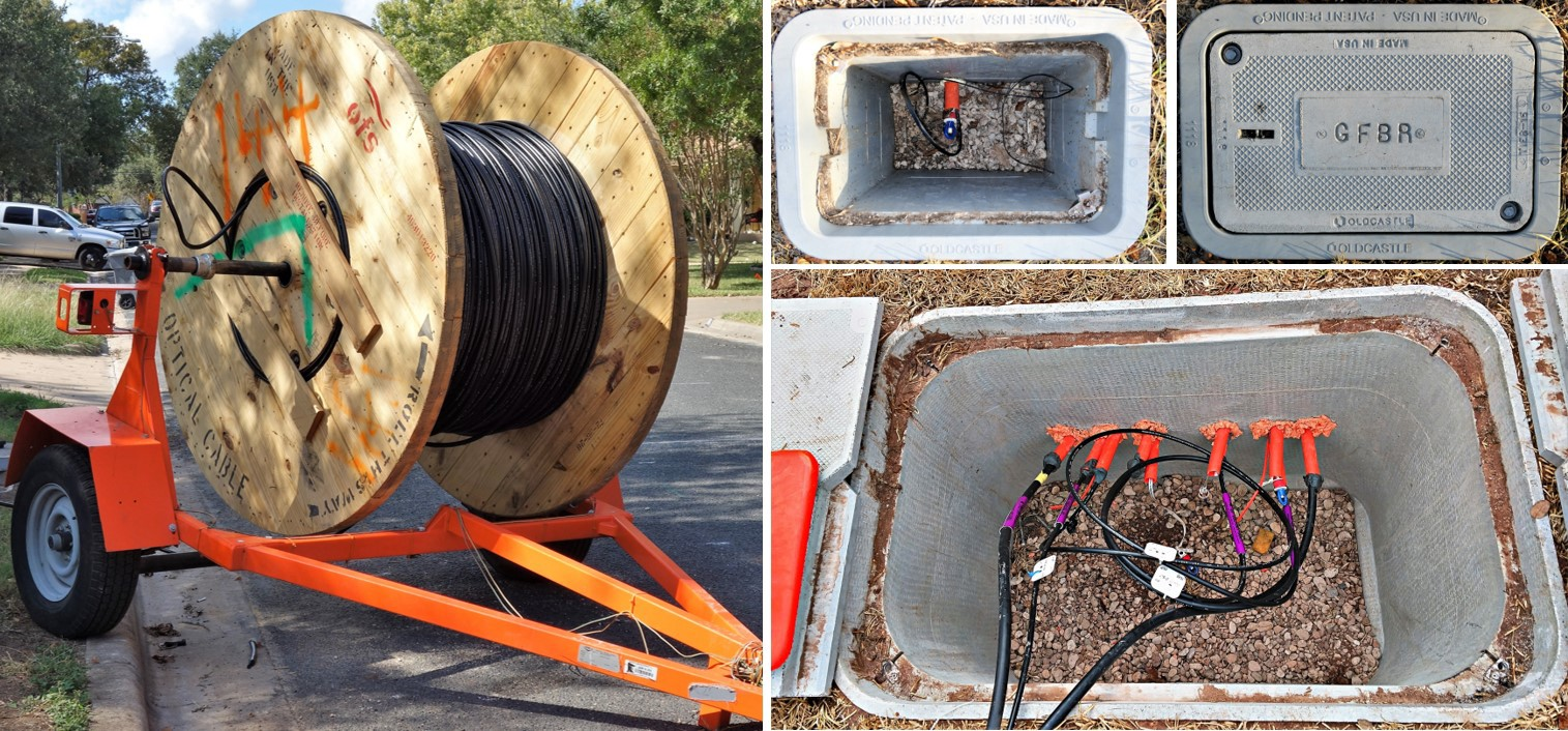 How My Austin Neighborhood Broke Google Fiber And What They Will Do Next Electrical Wiring Box Patents On Outdoor Bottom Right Medium In Ground With Conduit Terminated Cable Run Test Top Small