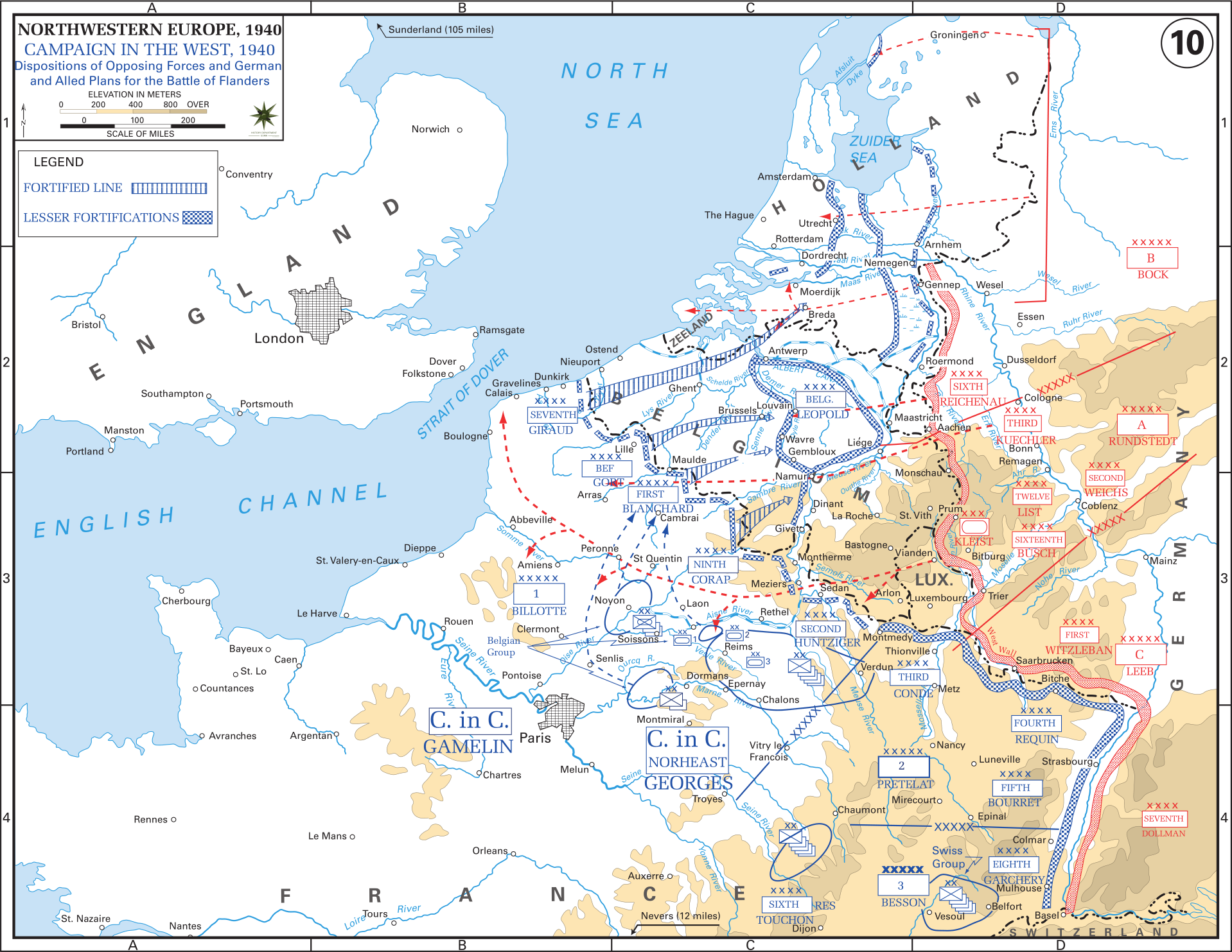 Western Front Maps of World War II – Inflab – Medium