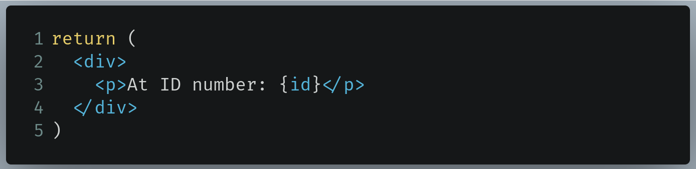 Code to replace with in /pages/contact/[id].js