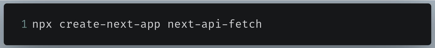 Terminal command to initialize the repo