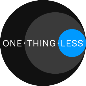 One.Thing.Less