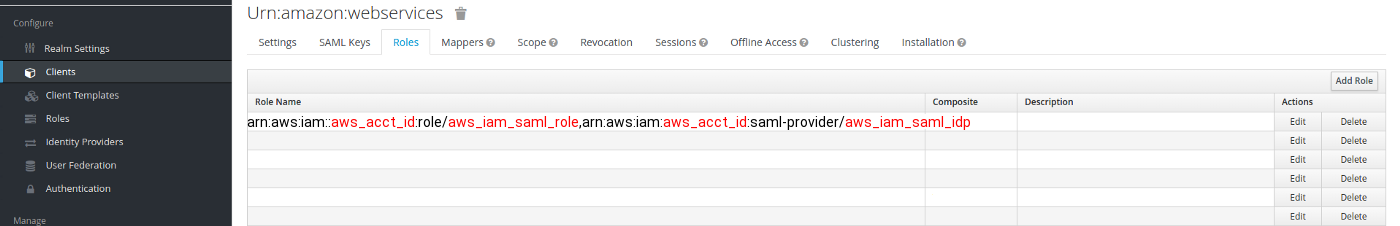 How to set up SSO for Amazon AWS using SAML and Keycloak