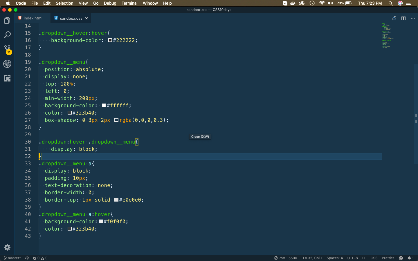CSS complete