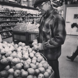D Buying Produce in Bellingham