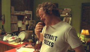 "Hoffman as Lester Bangs in ""Almost Famous"""