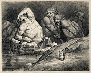 Titans and other giants are imprisoned in Hell...