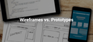 What's the difference between wireframes and prototypes?